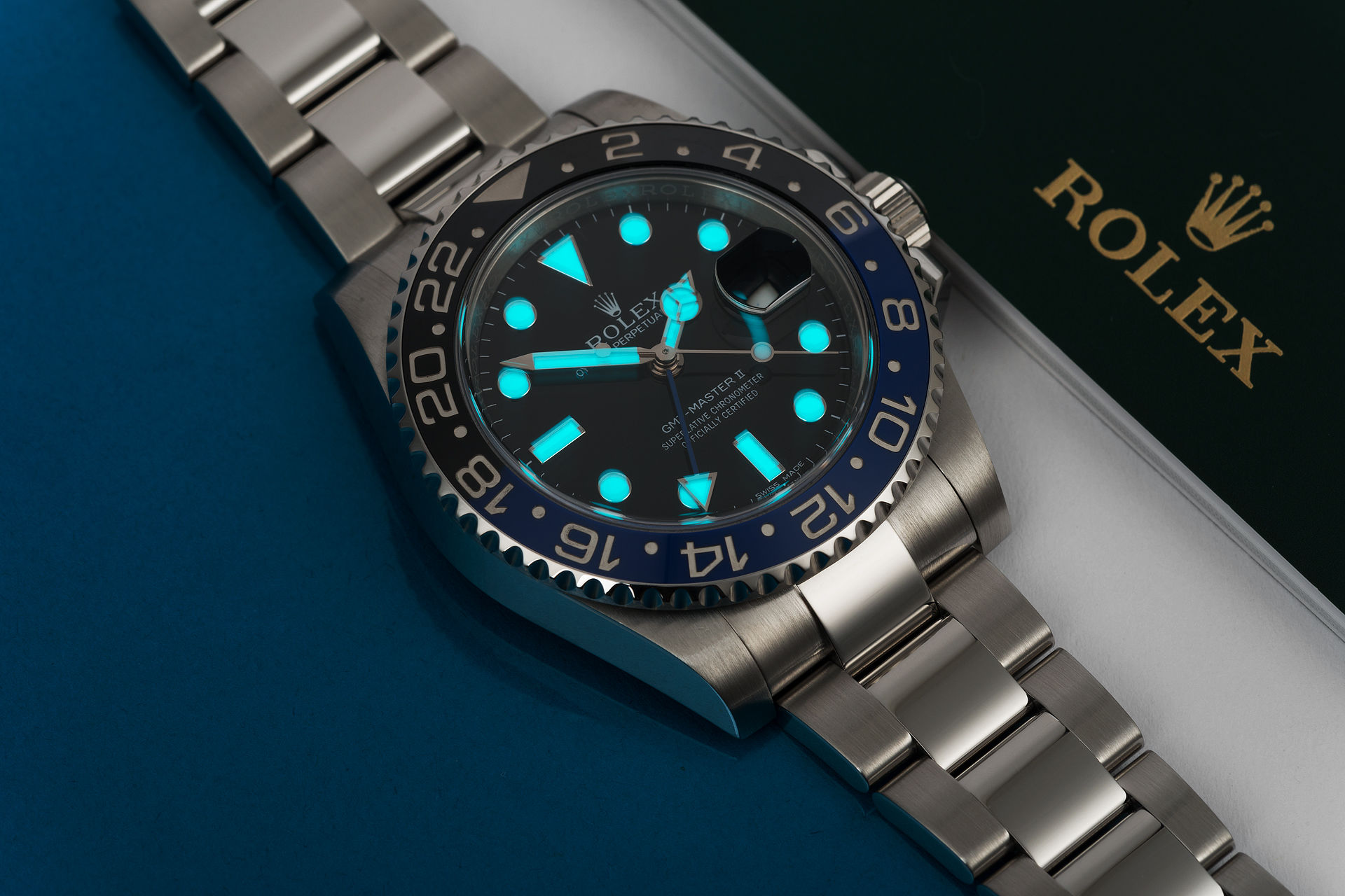 ref 116710BLNR | Perfect Full Set  | Rolex GMT-Master II