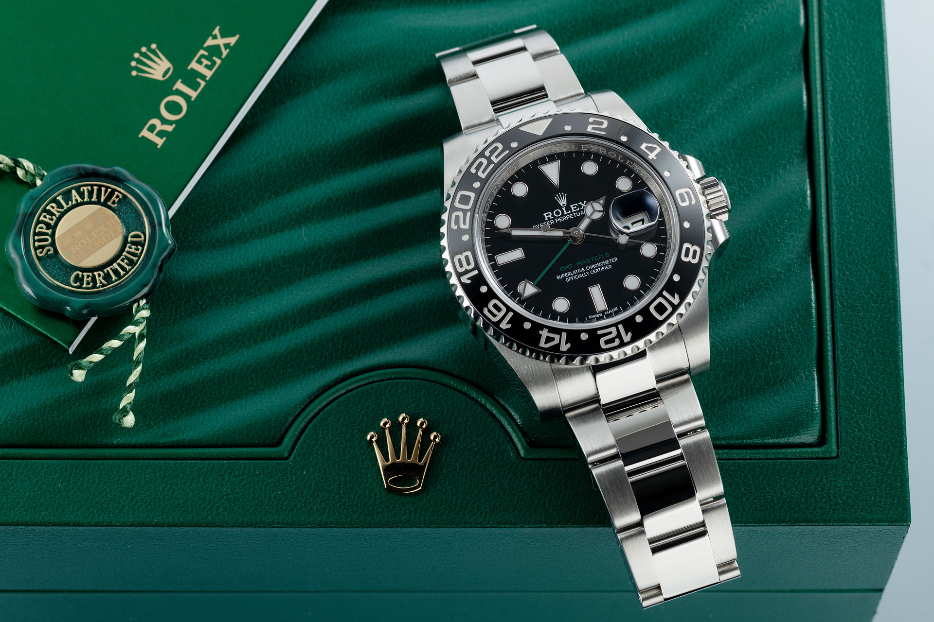 ref 116710LN | Under Rolex 5 Year Warranty | Rolex GMT-Master II