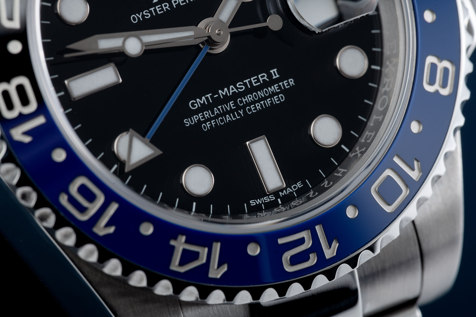 ref 116710BLNR | 'Under Rolex Warranty' | Rolex GMT-Master II