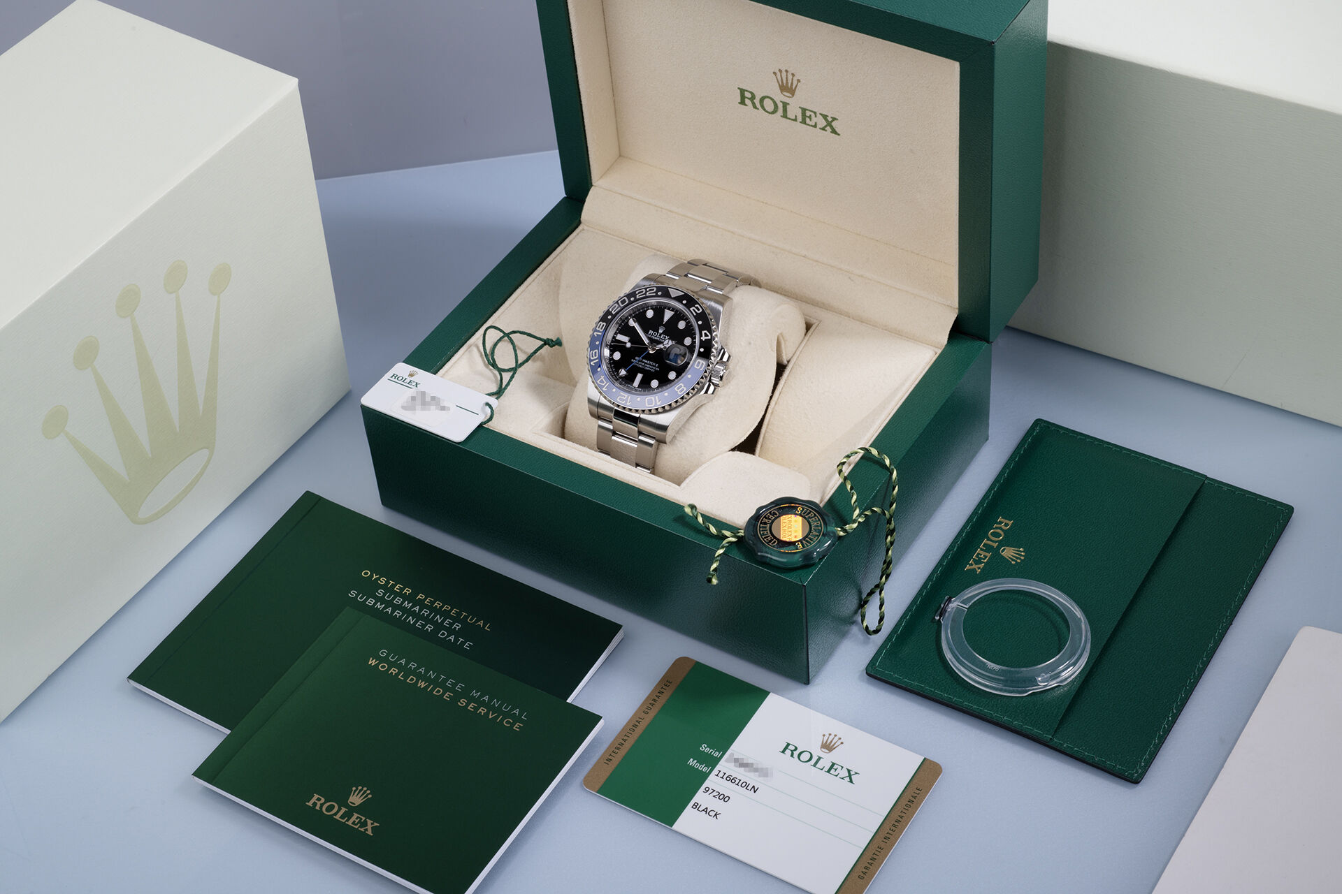 ref 116710BLNR | Under Rolex Warranty  | Rolex GMT-Master II