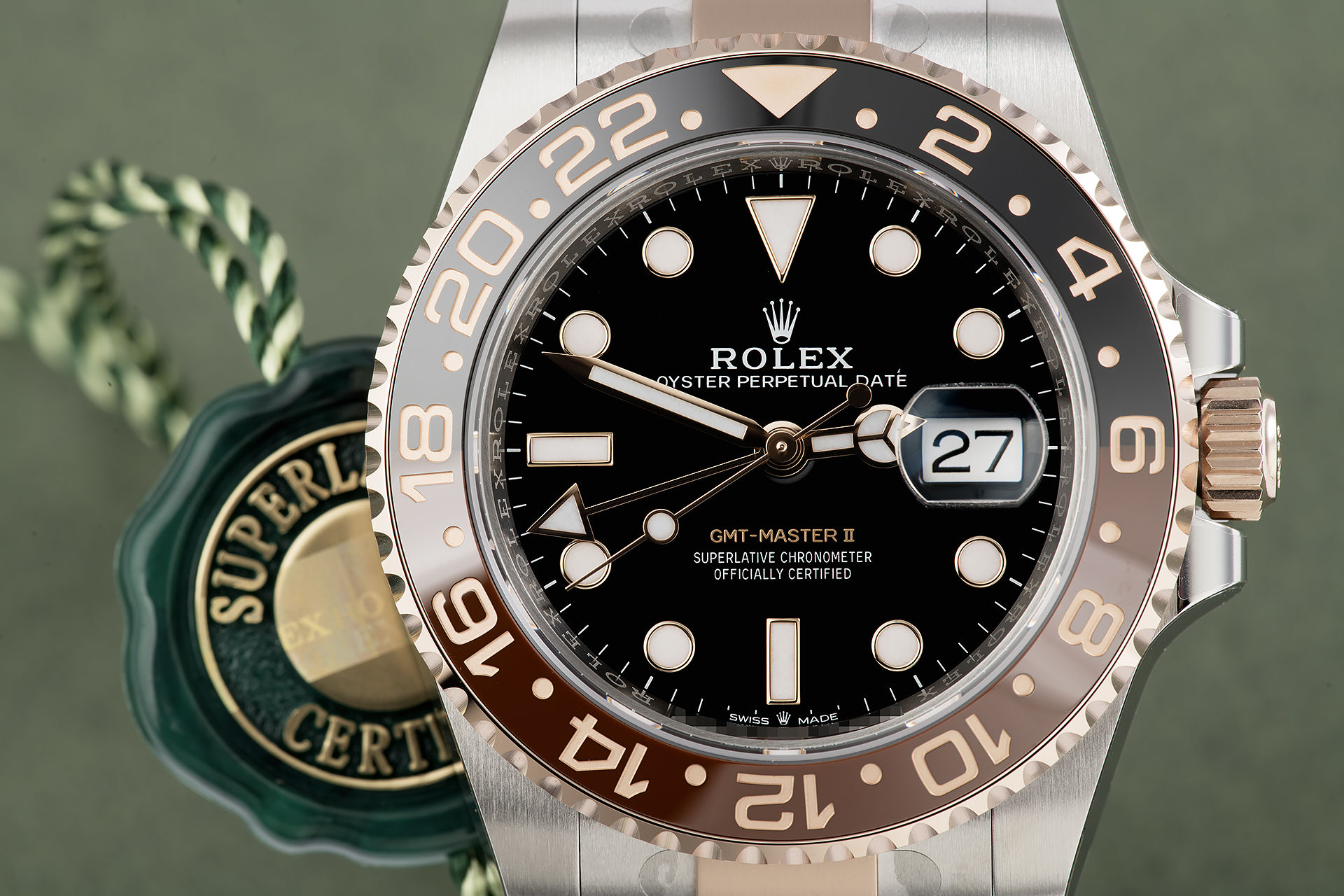 ref 126711CHNR | Warranty to 2024 'Fully Stickered' | Rolex GMT-Master II