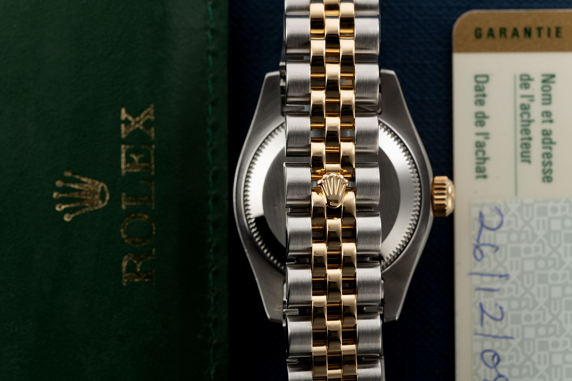 18ct Gold & Steel | ref 179173 | Rolex Lady-Datejust