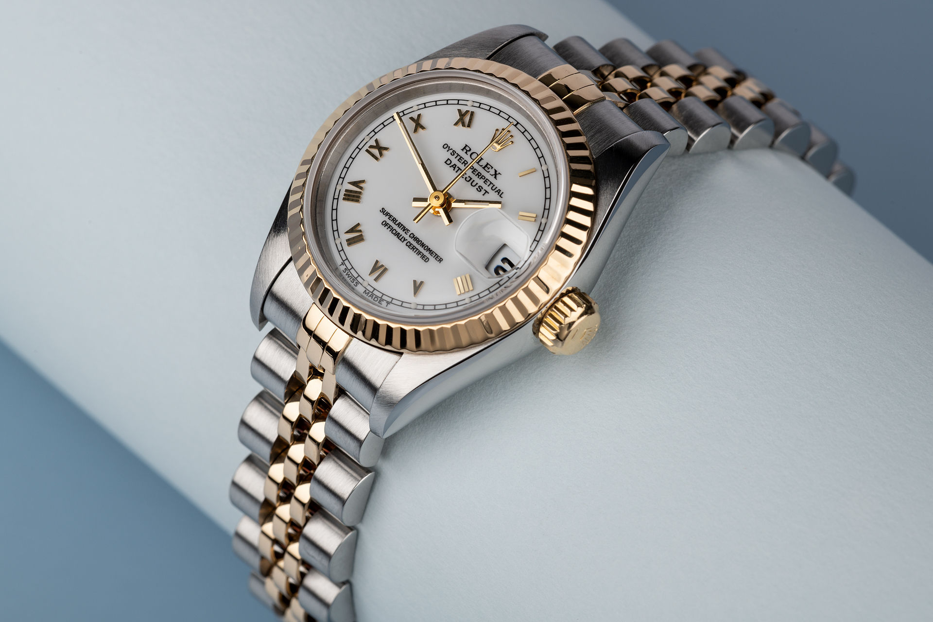 ref 69173 | '18ct Yellow Gold & Steel' | Rolex Lady-Datejust