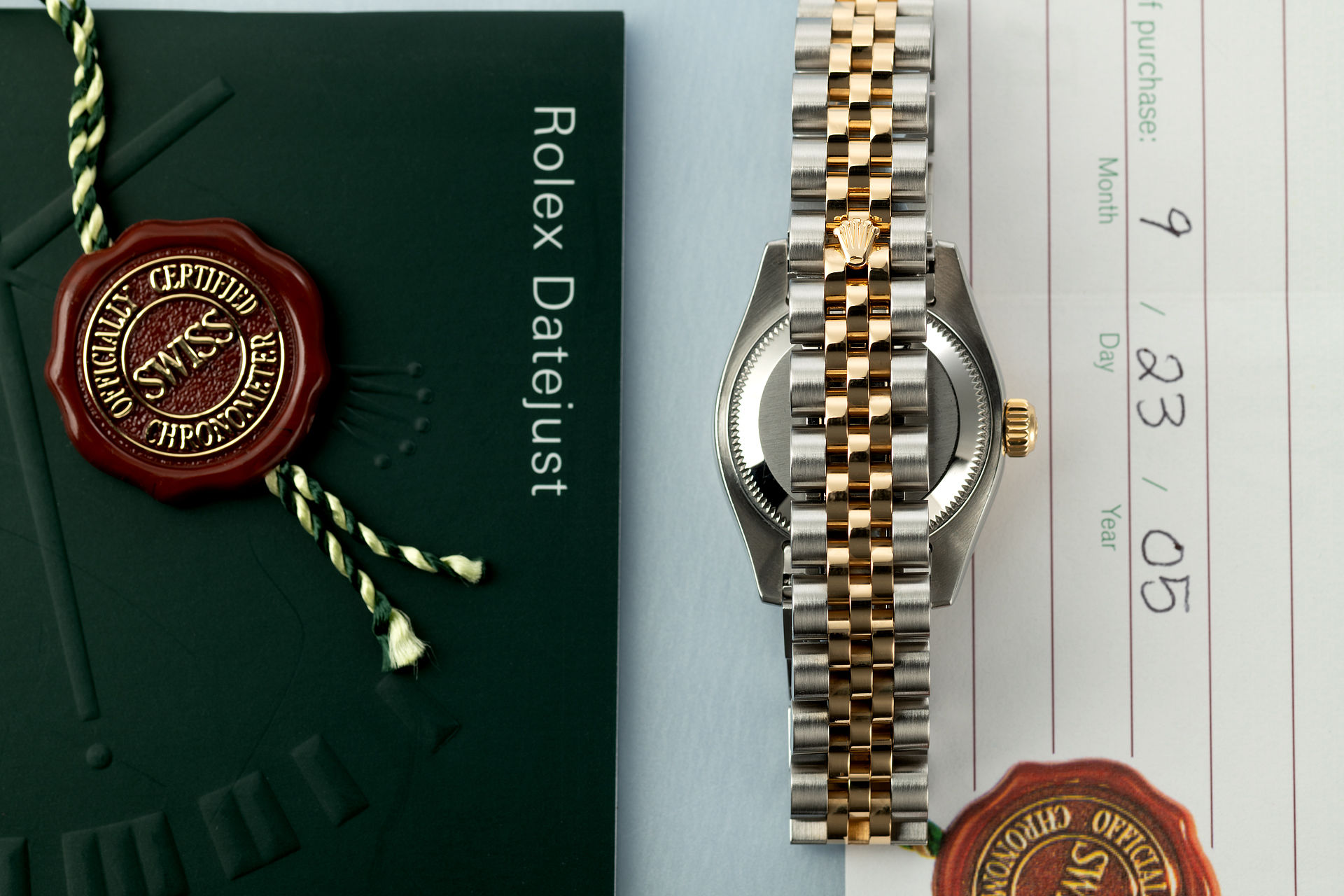 ref 179173 | Gold & Steel 'Diamond Dial' | Rolex Lady-Datejust