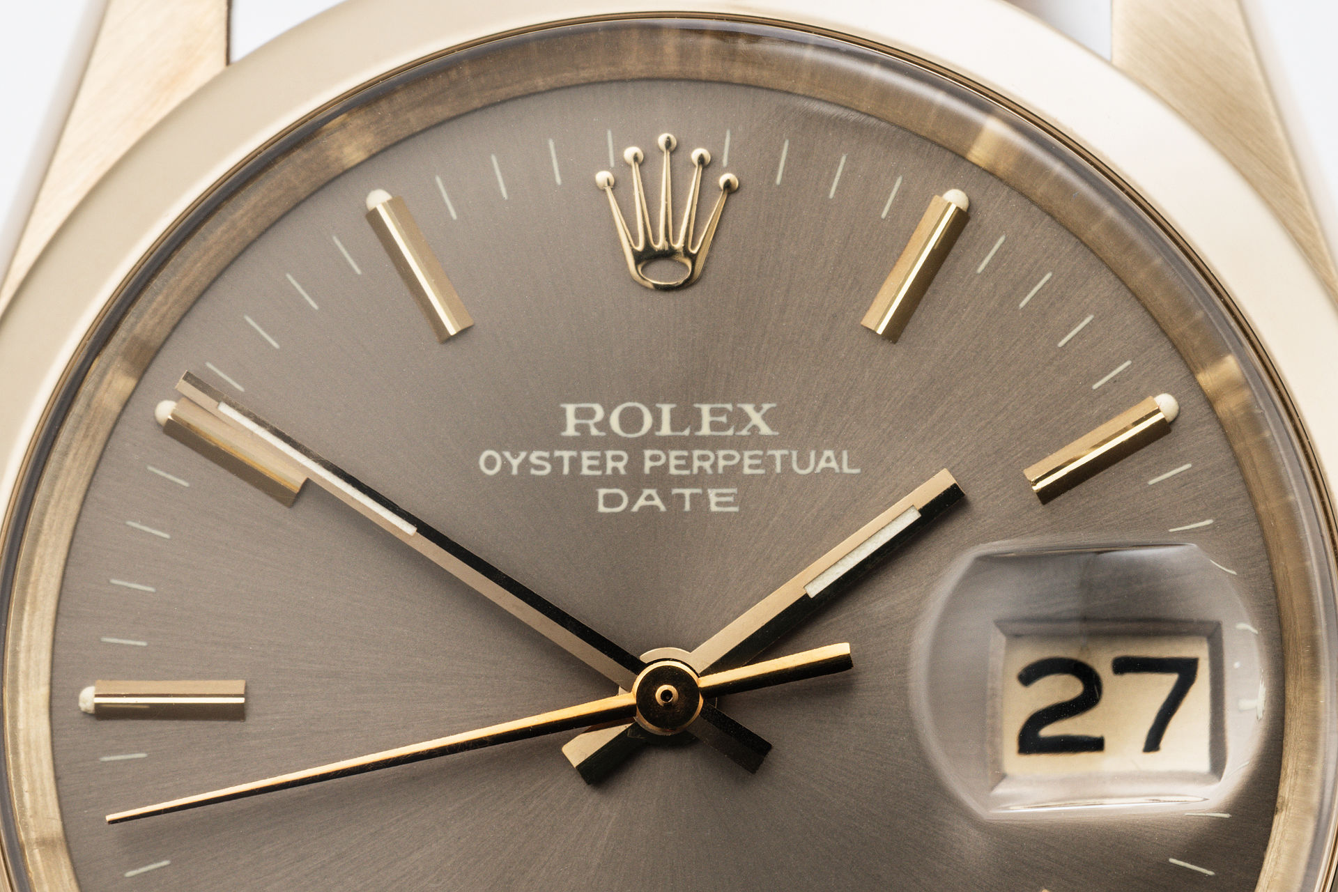 ref 1500 | 'Yellow Gold' Original Papers | Rolex Oyster Date