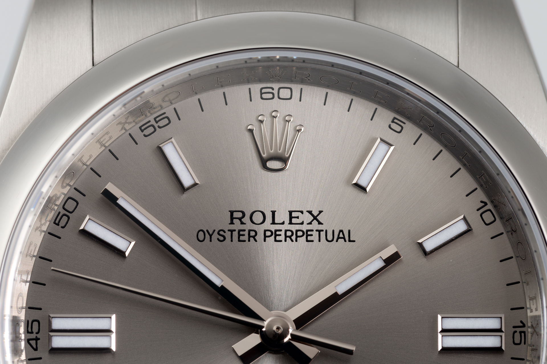 ref 116000 | Full Set 'Steel Grey' | Rolex Oyster Perpetual
