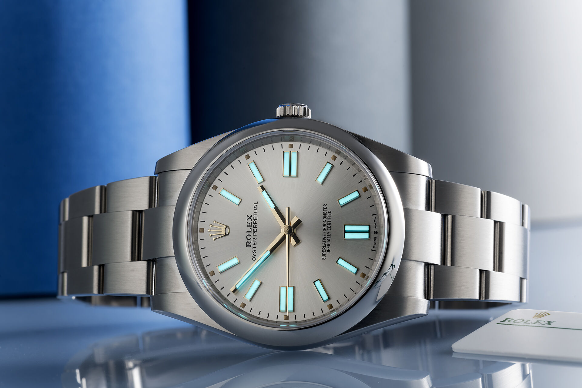 ref 124300 | 'Silver Sunray' New Release  | Rolex Oyster Perpetual