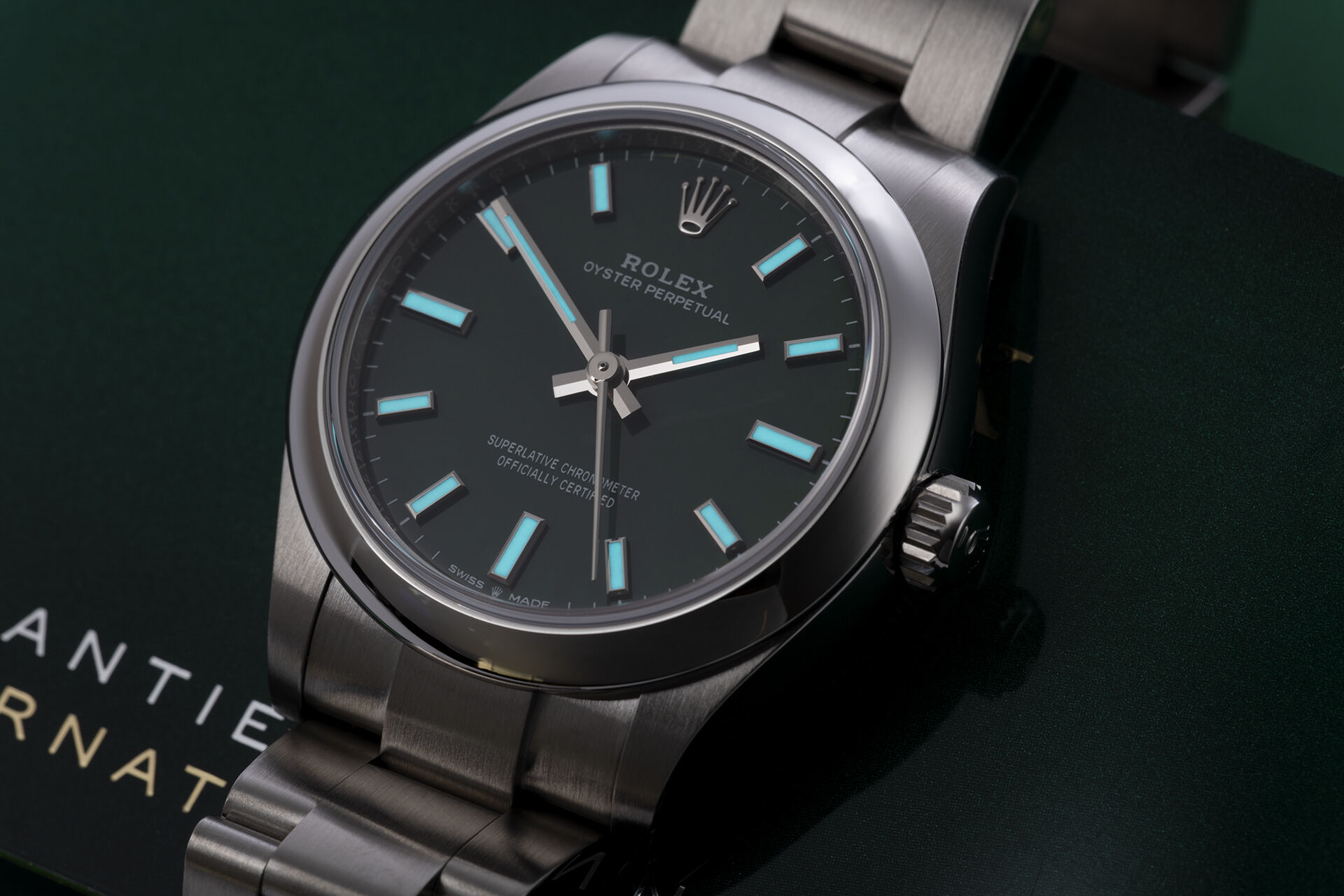 ref 277200 | Latest Release - Green Dial | Rolex Oyster Perpetual