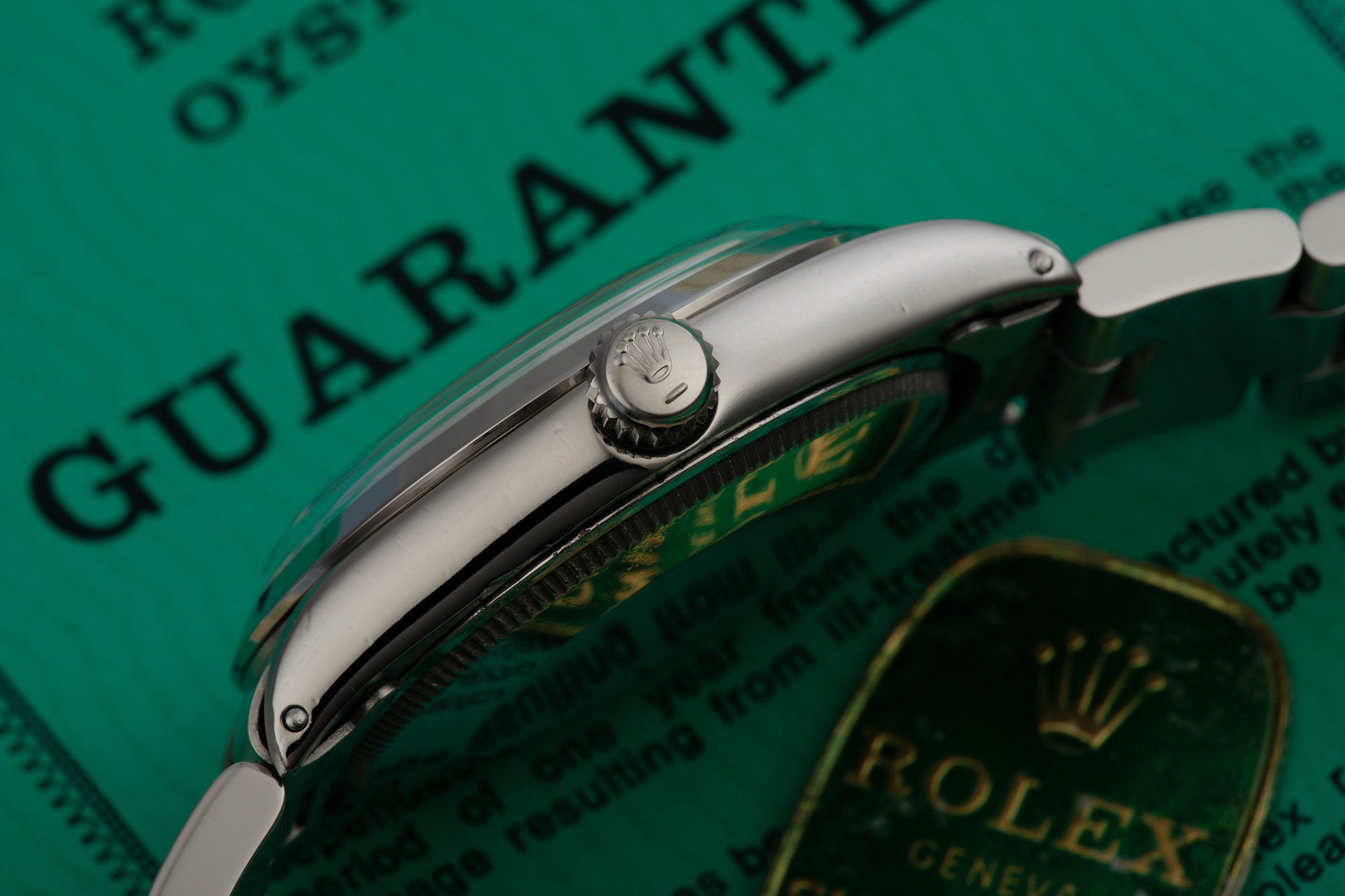 ref 1002 | '1968 Chronometer Certificate' | Rolex Oyster Perpetual