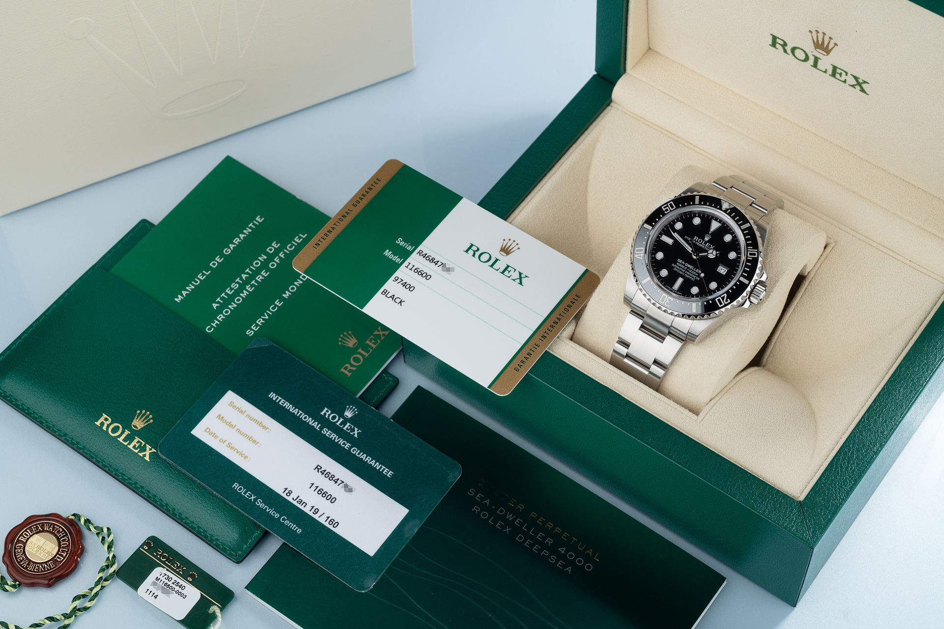 ref 116600 | '3 Year Production' | Rolex Sea-Dweller 4000