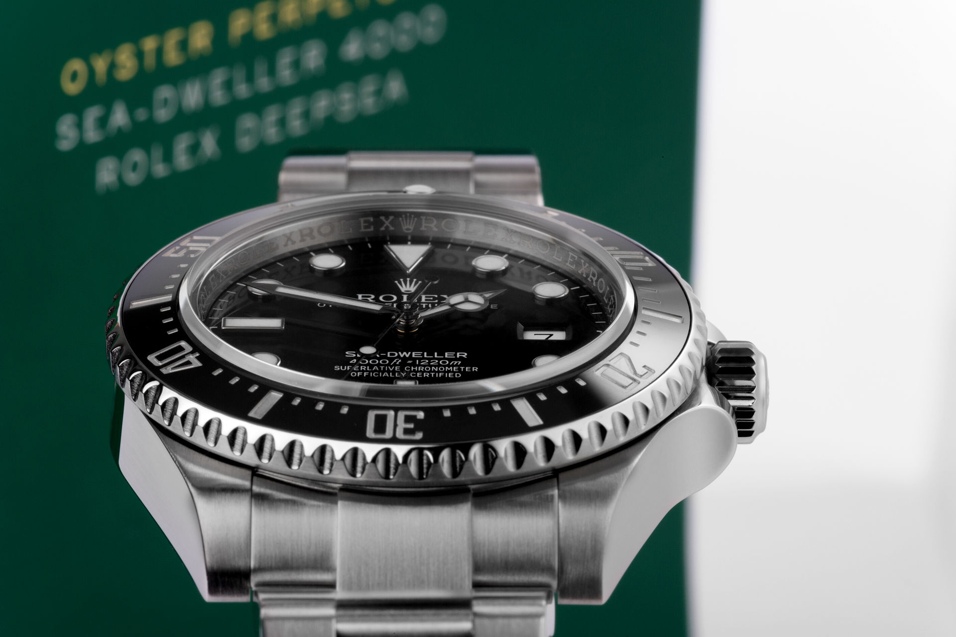 ref 116600 | Box & Certificate | Rolex Sea-Dweller 4000