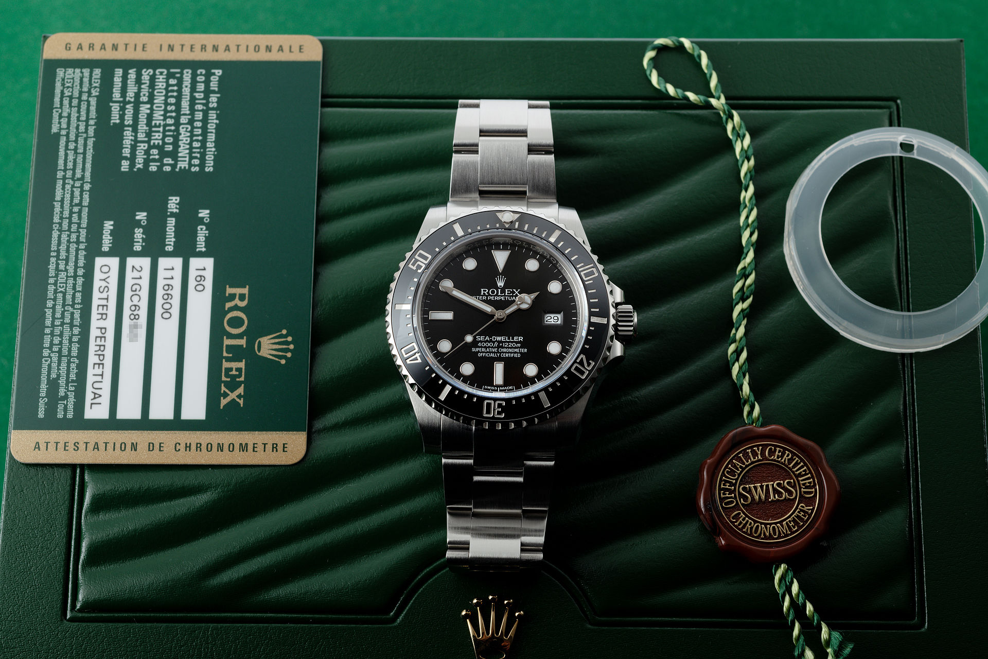 ref 116600 | 'Produced for 3 Years' | Rolex Sea-Dweller 4000
