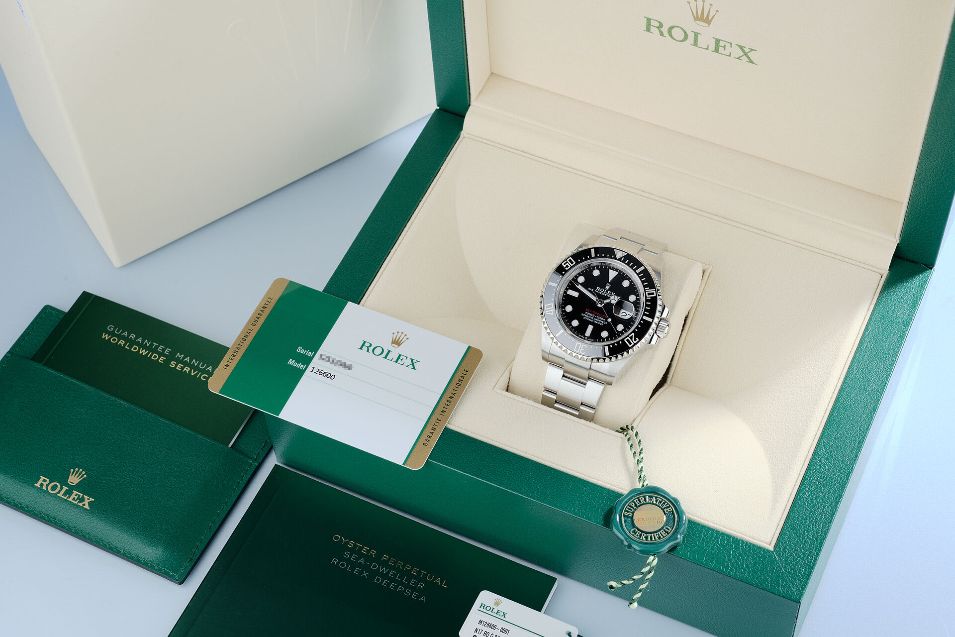 ref 126600 | 5 Year Rolex Warranty | Rolex Sea-Dweller
