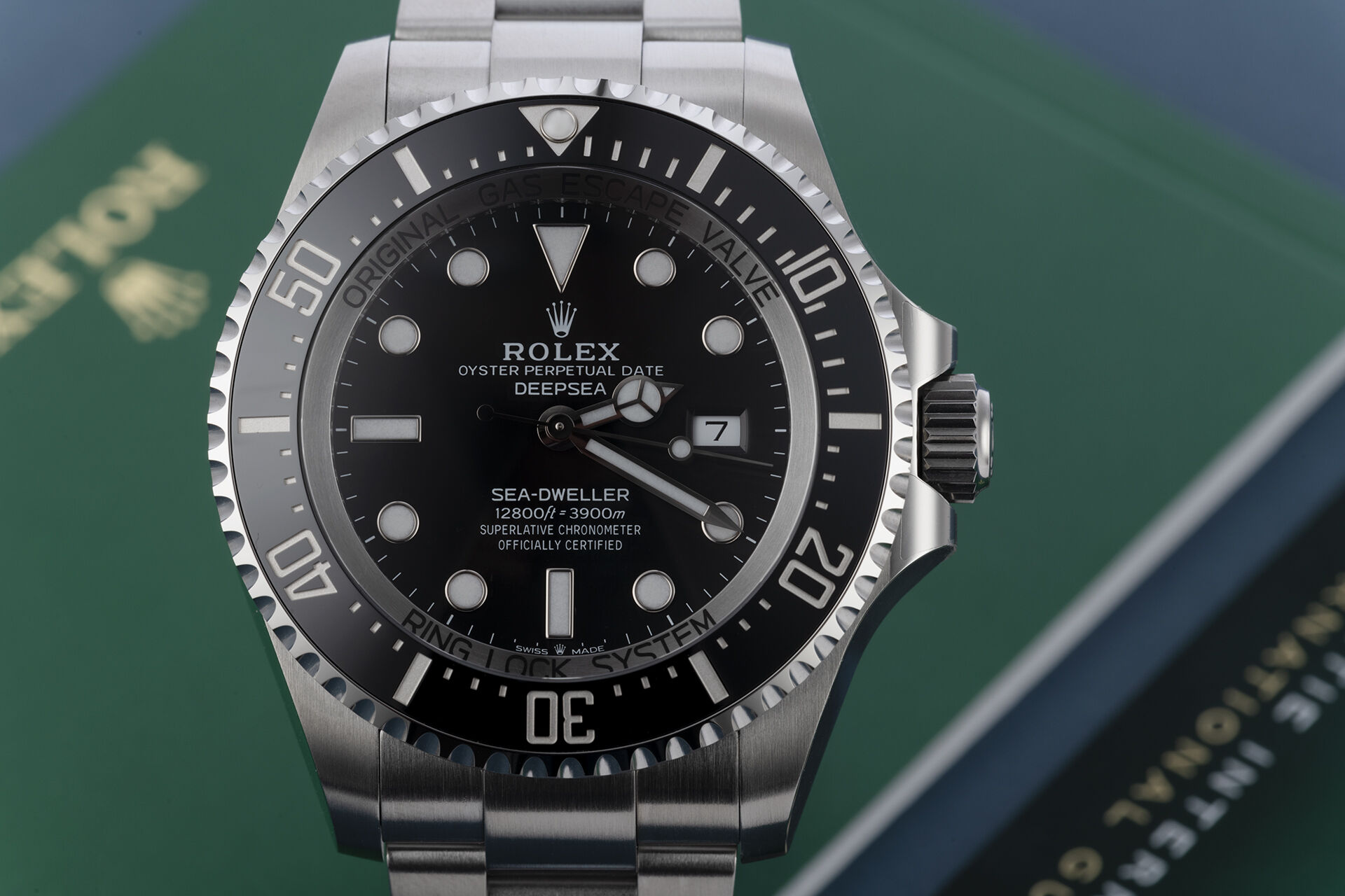 ref 126660 | 5 Year International Warranty  | Rolex Sea-Dweller Deepsea