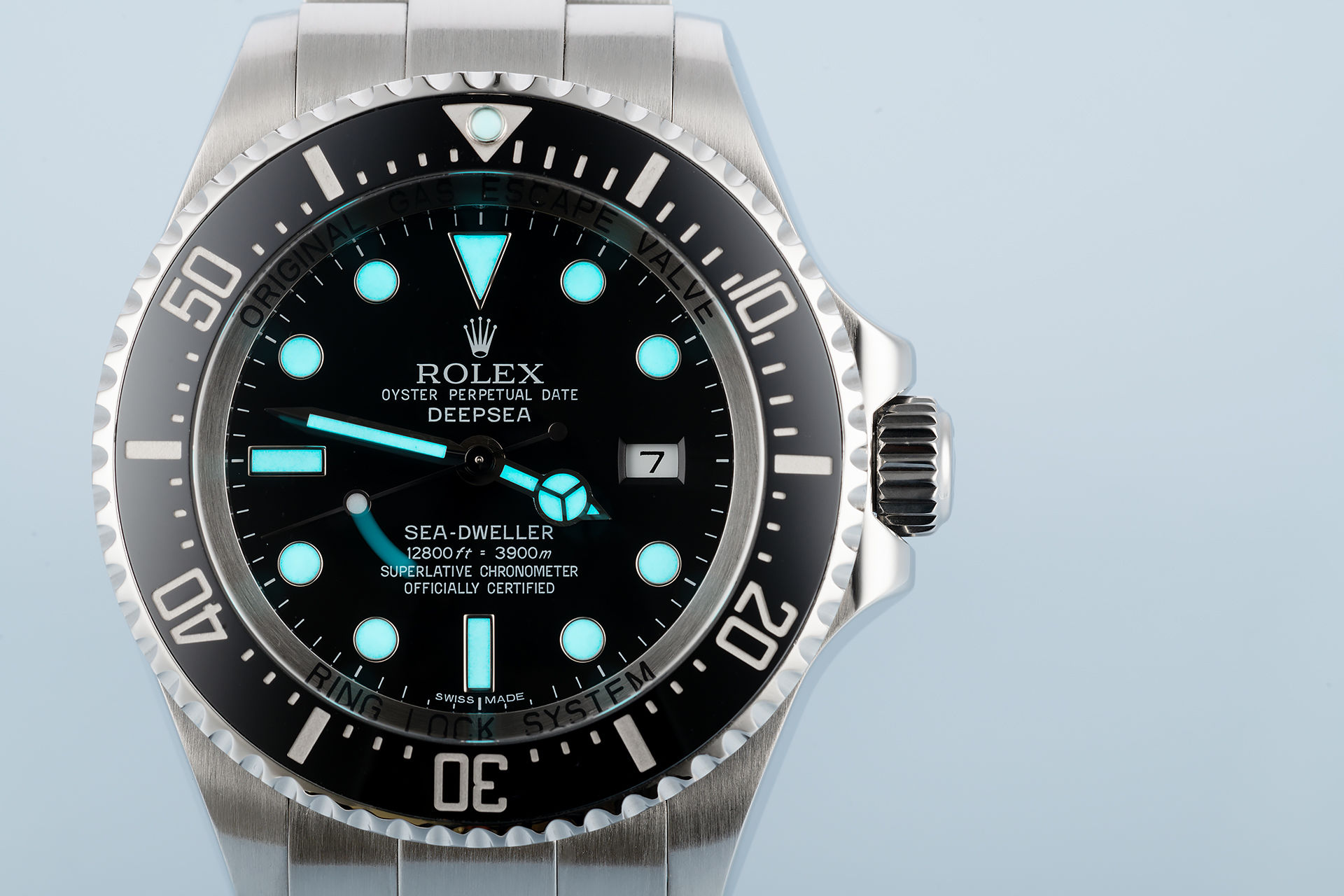 ref 116660 | Complete Set with Rolex Warranty | Rolex Sea-Dweller Deepsea