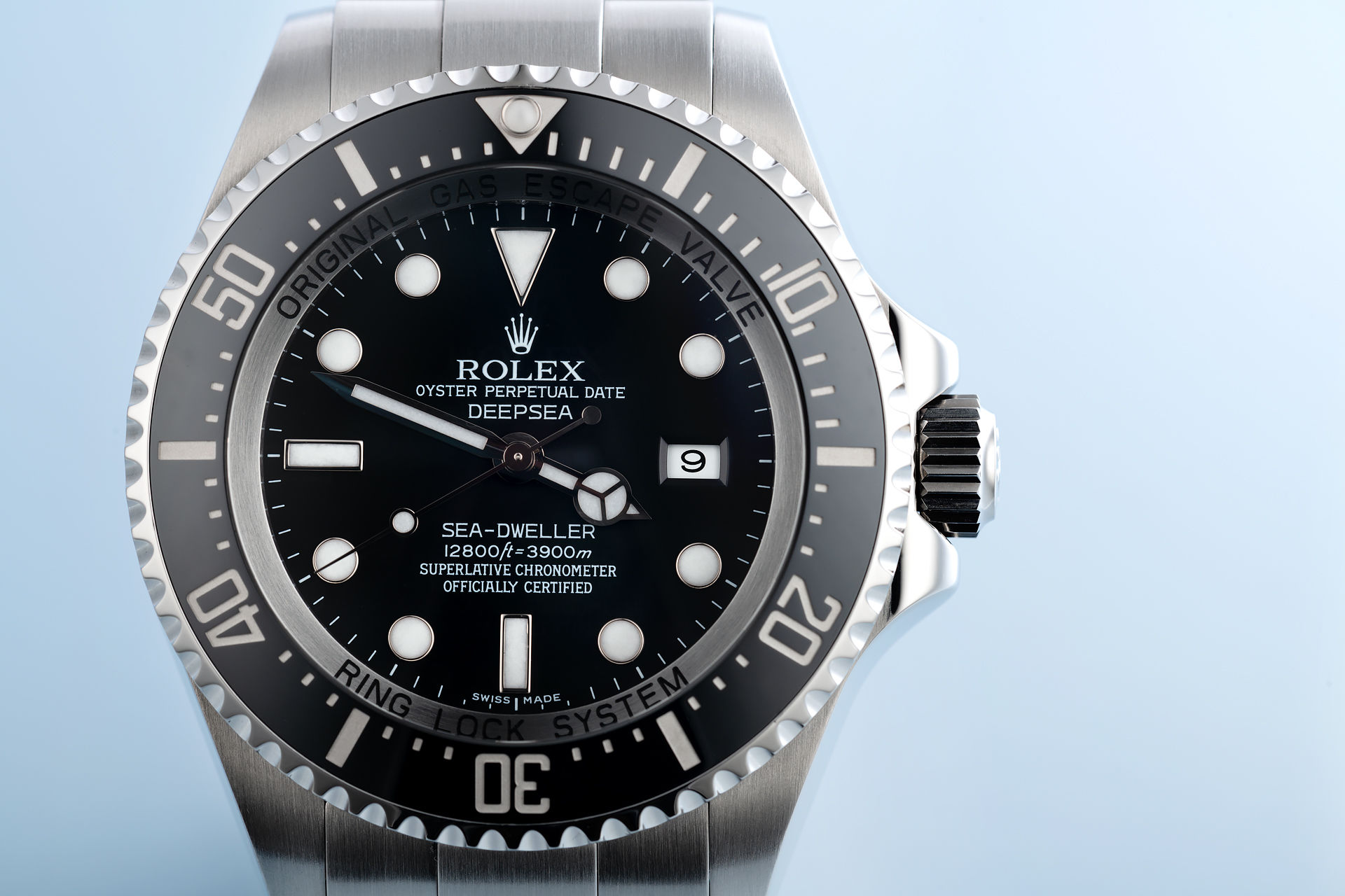 ref 116660 | Full Set 'Rolex Service Warranty' | Rolex Sea-Dweller Deepsea