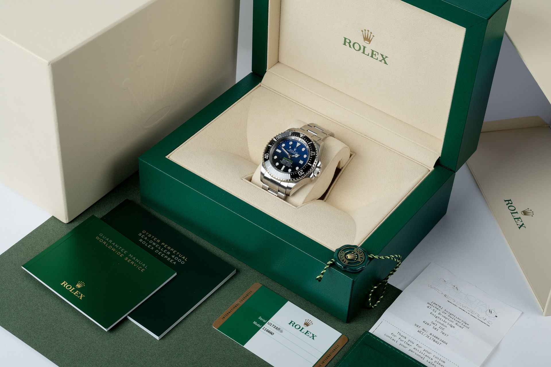 ref 116660 | Under Rolex Warranty  | Rolex Sea-Dweller Deepsea