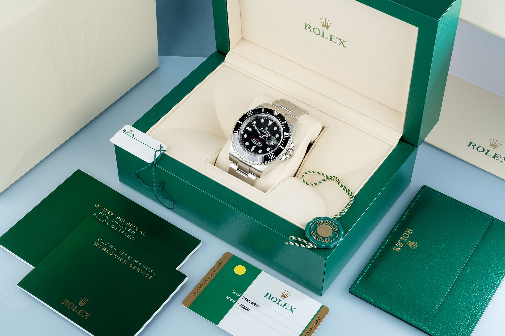 ref 126600 | Anniversary Model 'Full Set' | Rolex Sea-Dweller