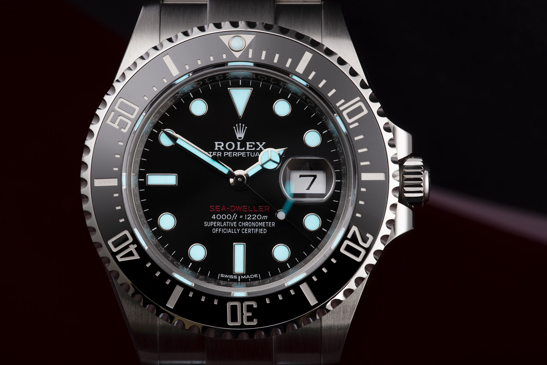 ref 126600 | Red Writing - '1st Series' | Rolex Sea-Dweller