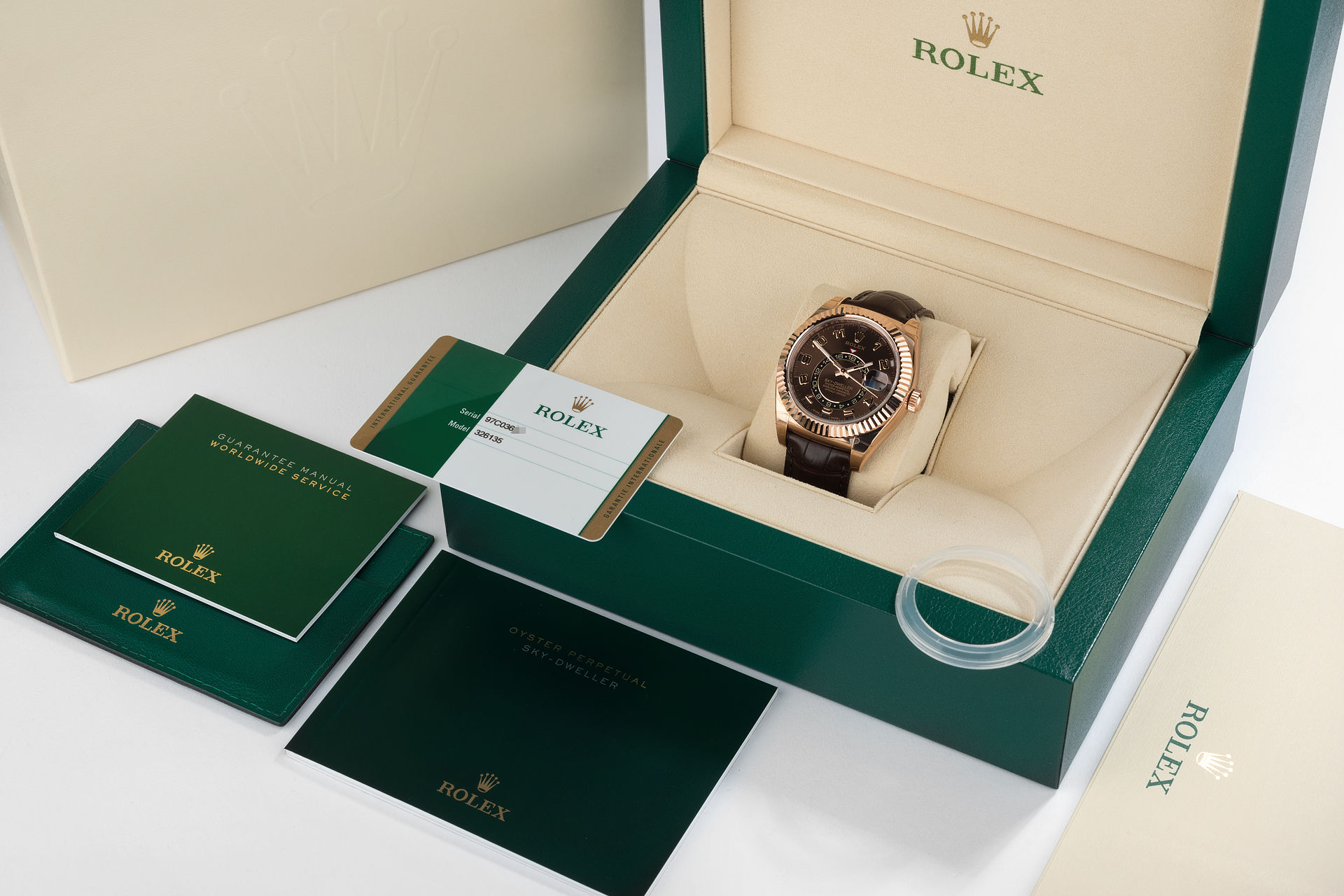 ref 326135 | Unworn & Fully Stickered | Rolex Sky-Dweller