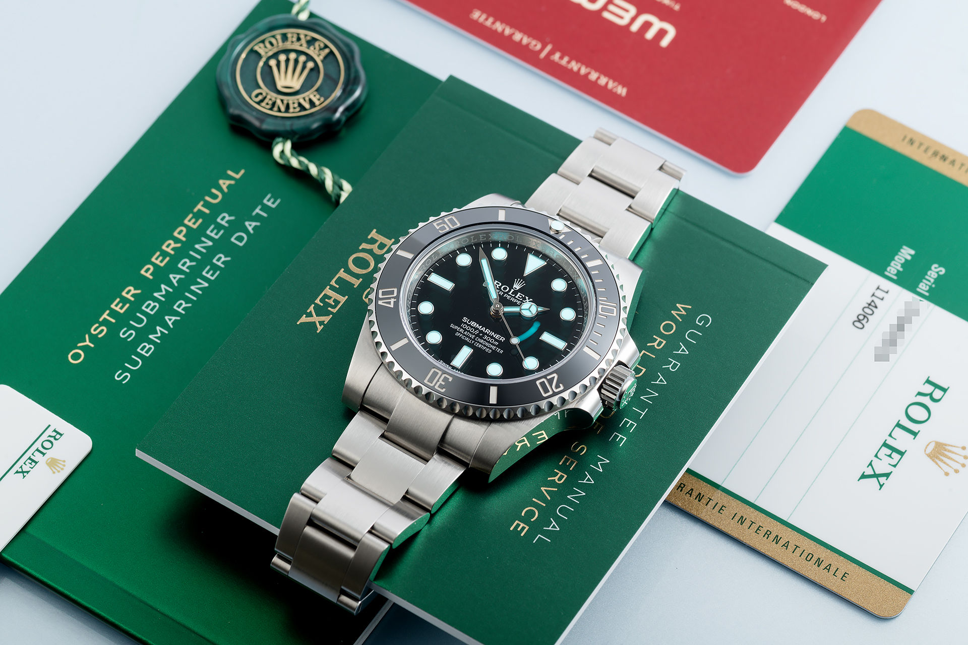 ref 114060 | 5 Year Warranty to 2025 | Rolex Submariner