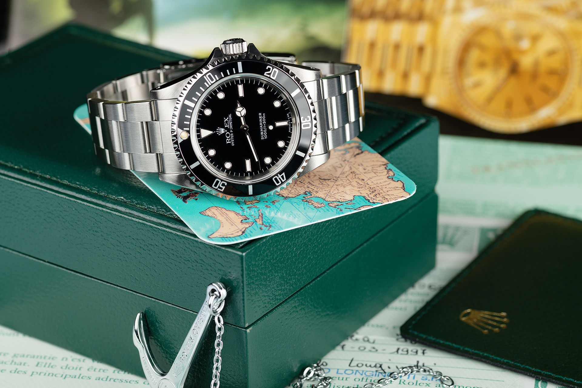 ref 14060 | 'Anodised Bezel' Classic Model  | Rolex Submariner