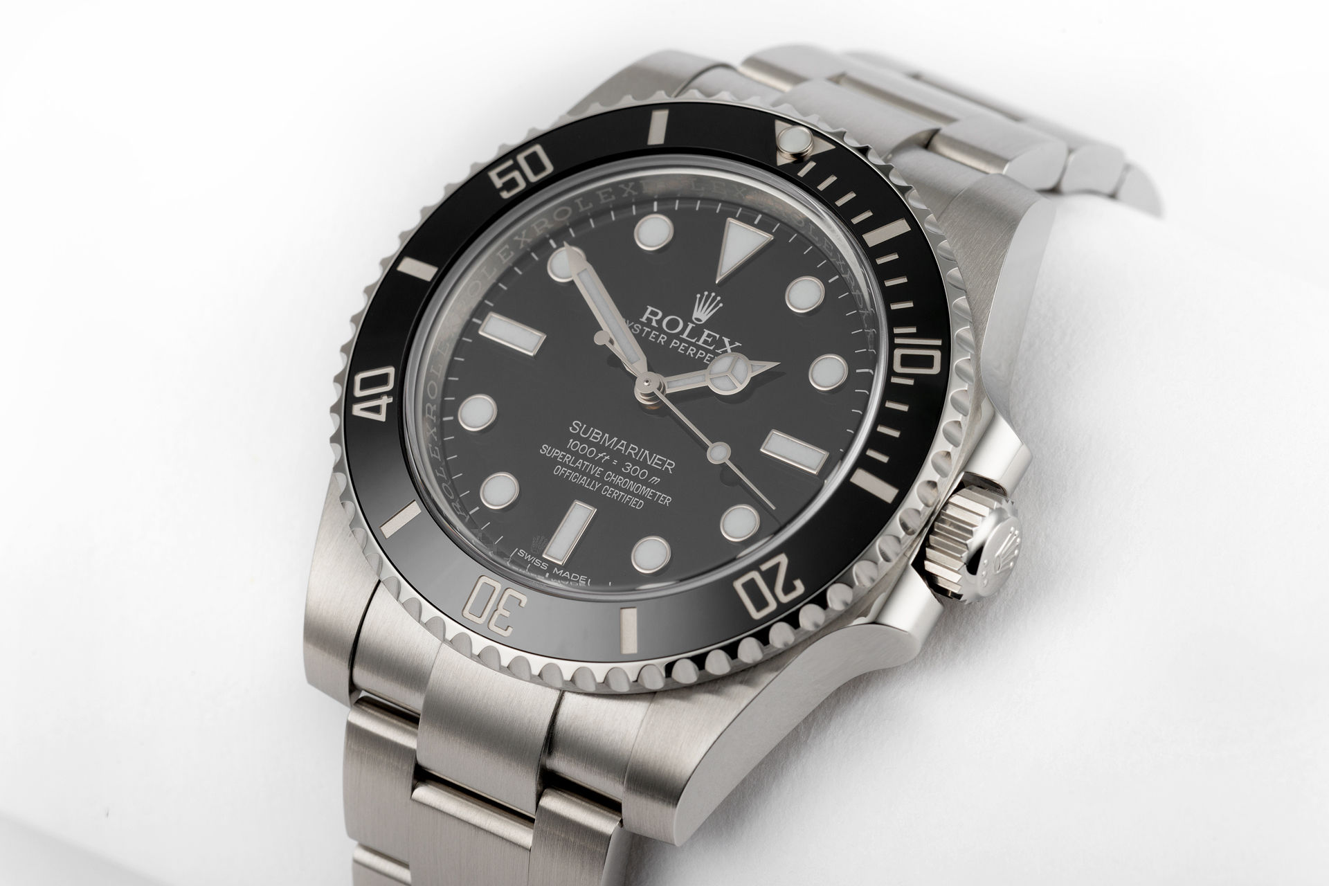 rolex warranty to 2021 ref 114060 rolex submariner watches the watch club. Black Bedroom Furniture Sets. Home Design Ideas