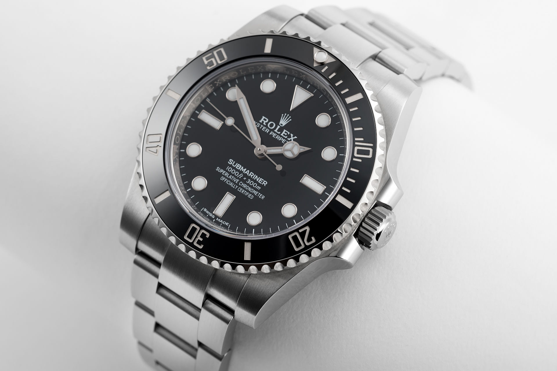 brand new 2018 ref 114060 rolex submariner watches the watch club. Black Bedroom Furniture Sets. Home Design Ideas