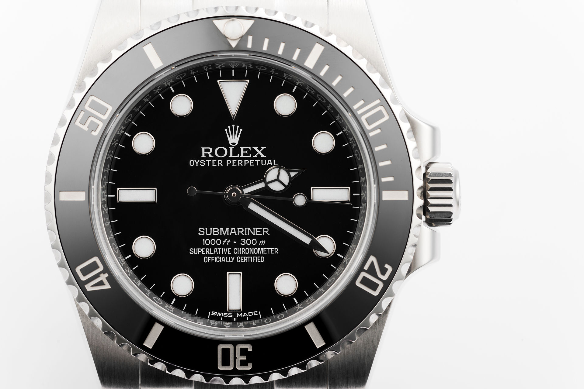 complete set 5 year warranty ref 114060 rolex submariner watches the watch club. Black Bedroom Furniture Sets. Home Design Ideas