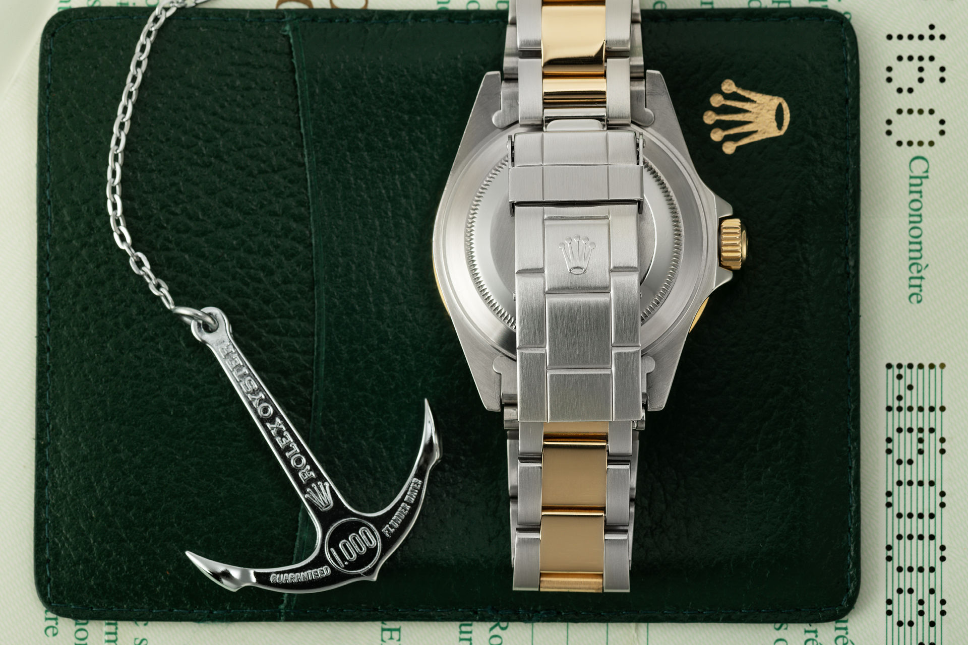 ref 16613 | Gold & steel 'Complete Set' | Rolex Submariner Date
