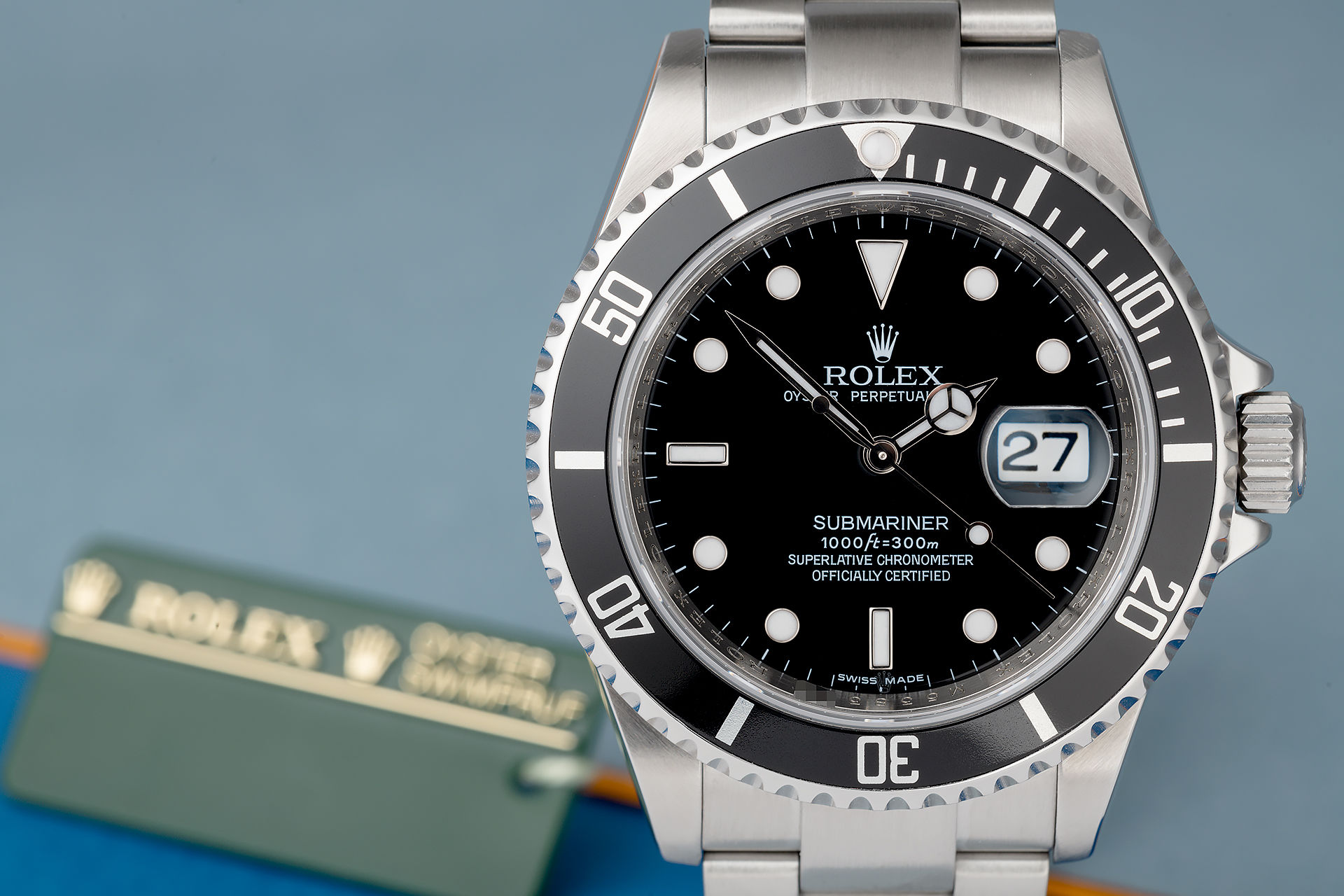 ref 16610 | Complete Set 'Harrods' | Rolex Submariner Date