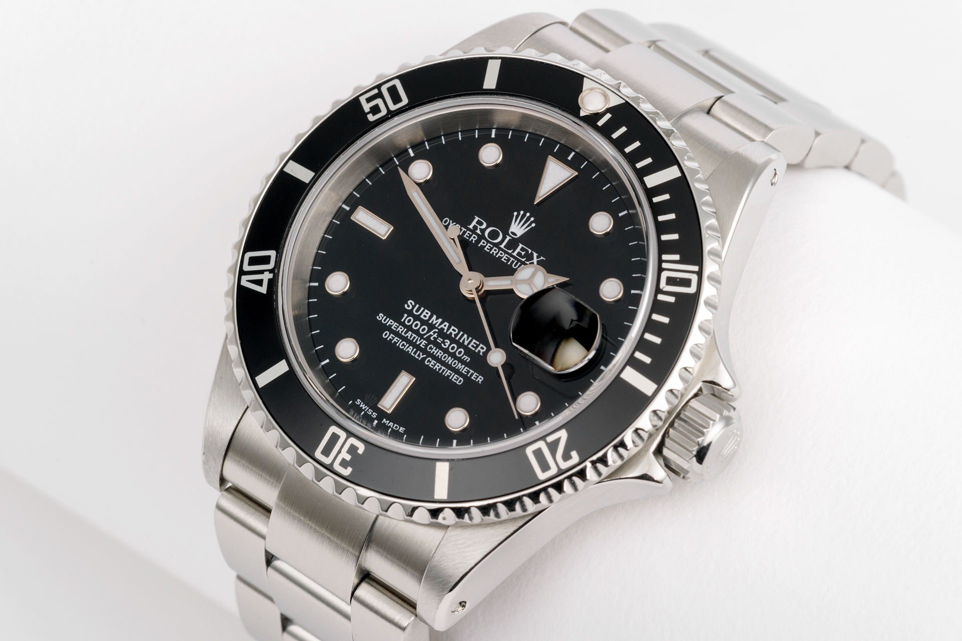 ref 16610 | Rolex Warranty to 2020 | Rolex Submariner Date