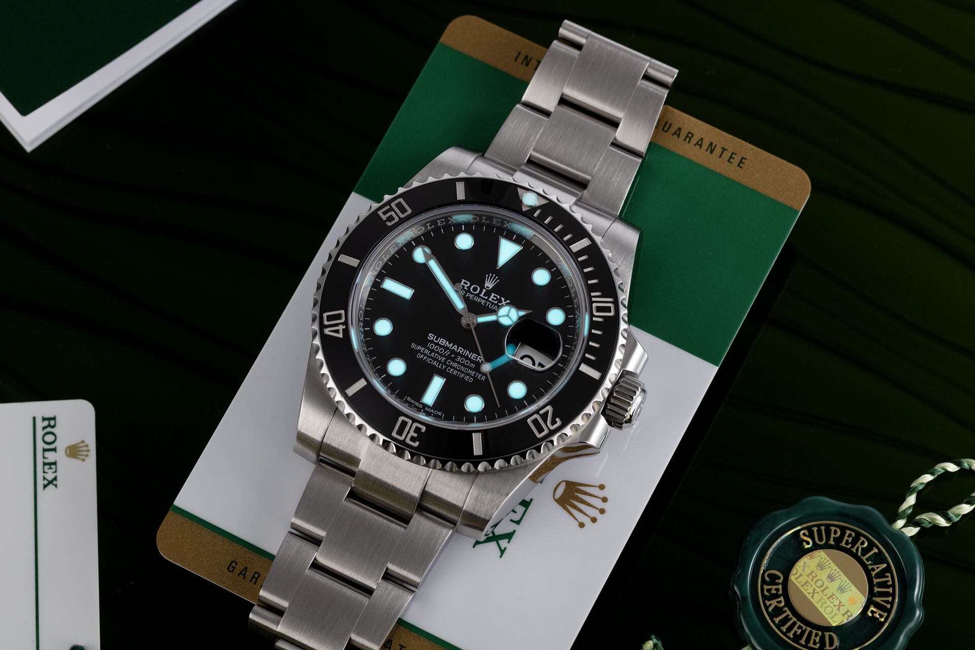 ref 116610LN | Discontinued - UK Purchased | Rolex Submariner Date