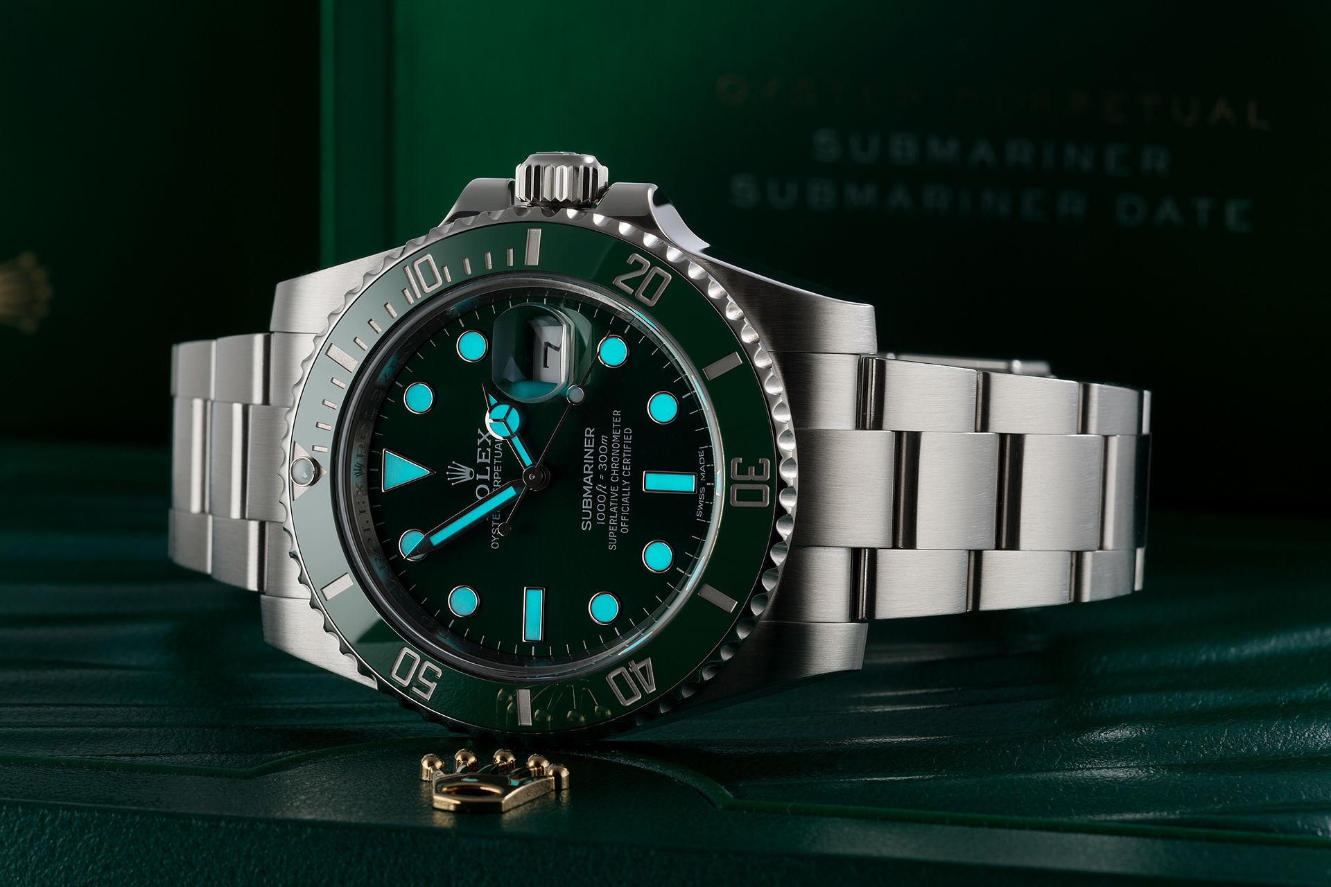 Rolex Submariner Date Watches Ref 116610lv Full Set