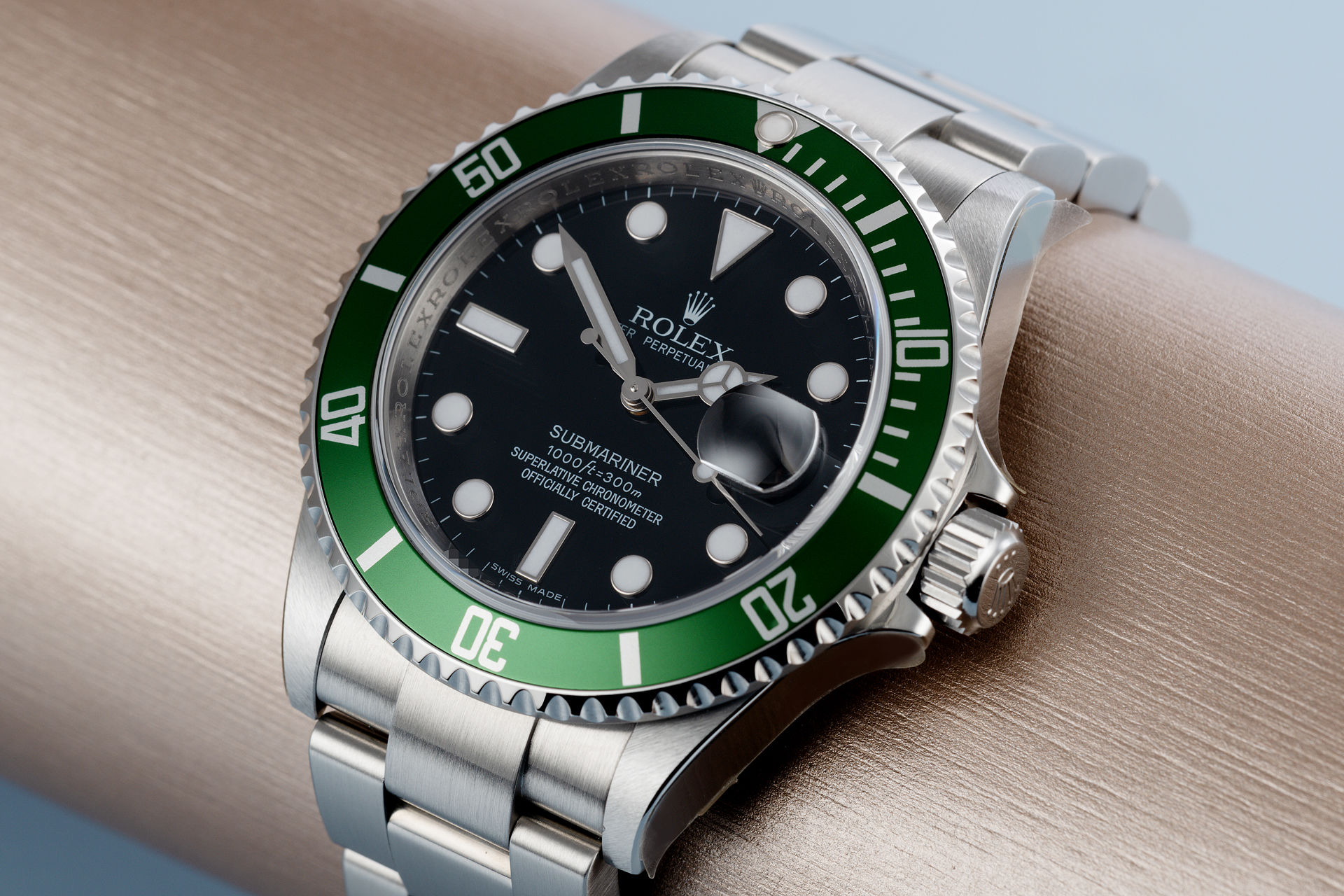 ref 16610LV | Fully Stickered 'Brand New Old Stock' | Rolex Submariner Date
