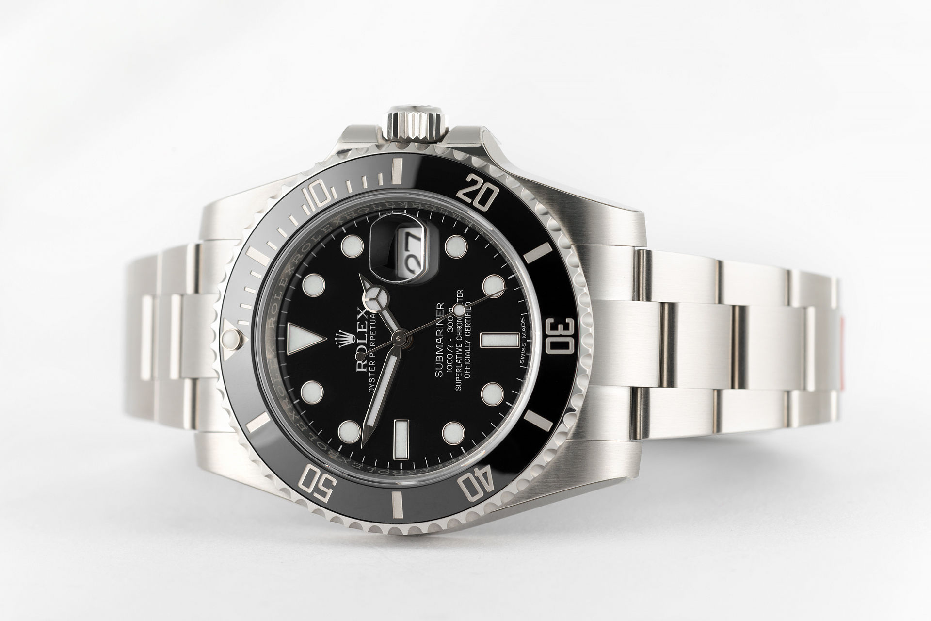 ref 116610LN | 'Fully Stickered' Unworn | Rolex Submariner Date