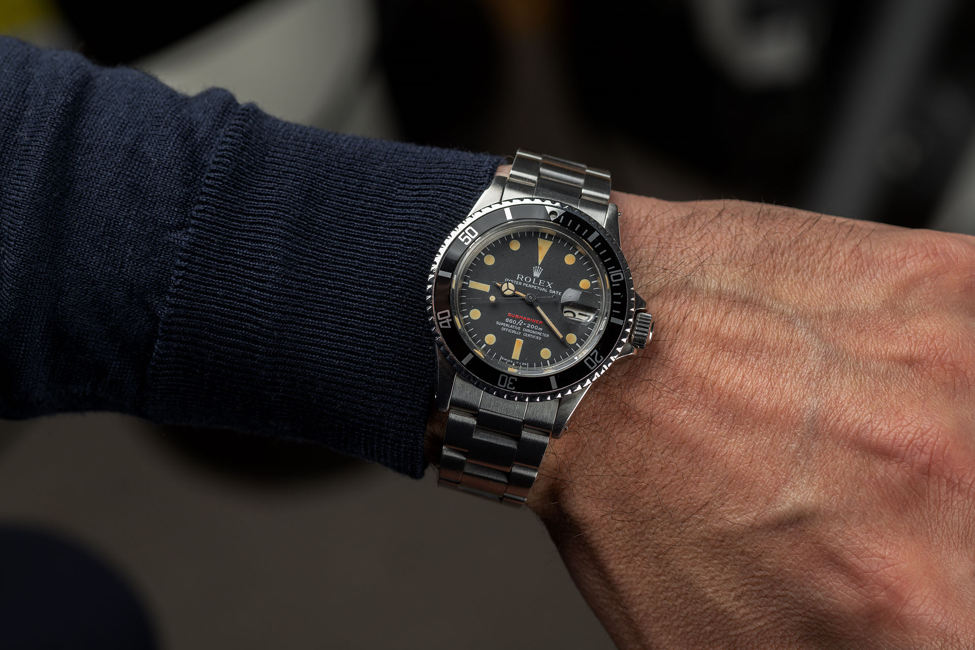 ref 1680 | 'Mark IV Dial' Ivory Patina | Rolex Submariner Date