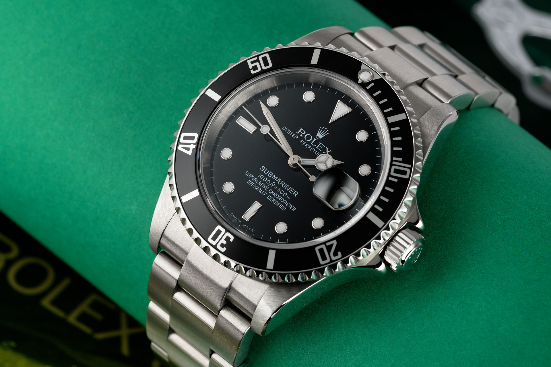 ref 16610 | Rolex Service Papers | Rolex Submariner Date