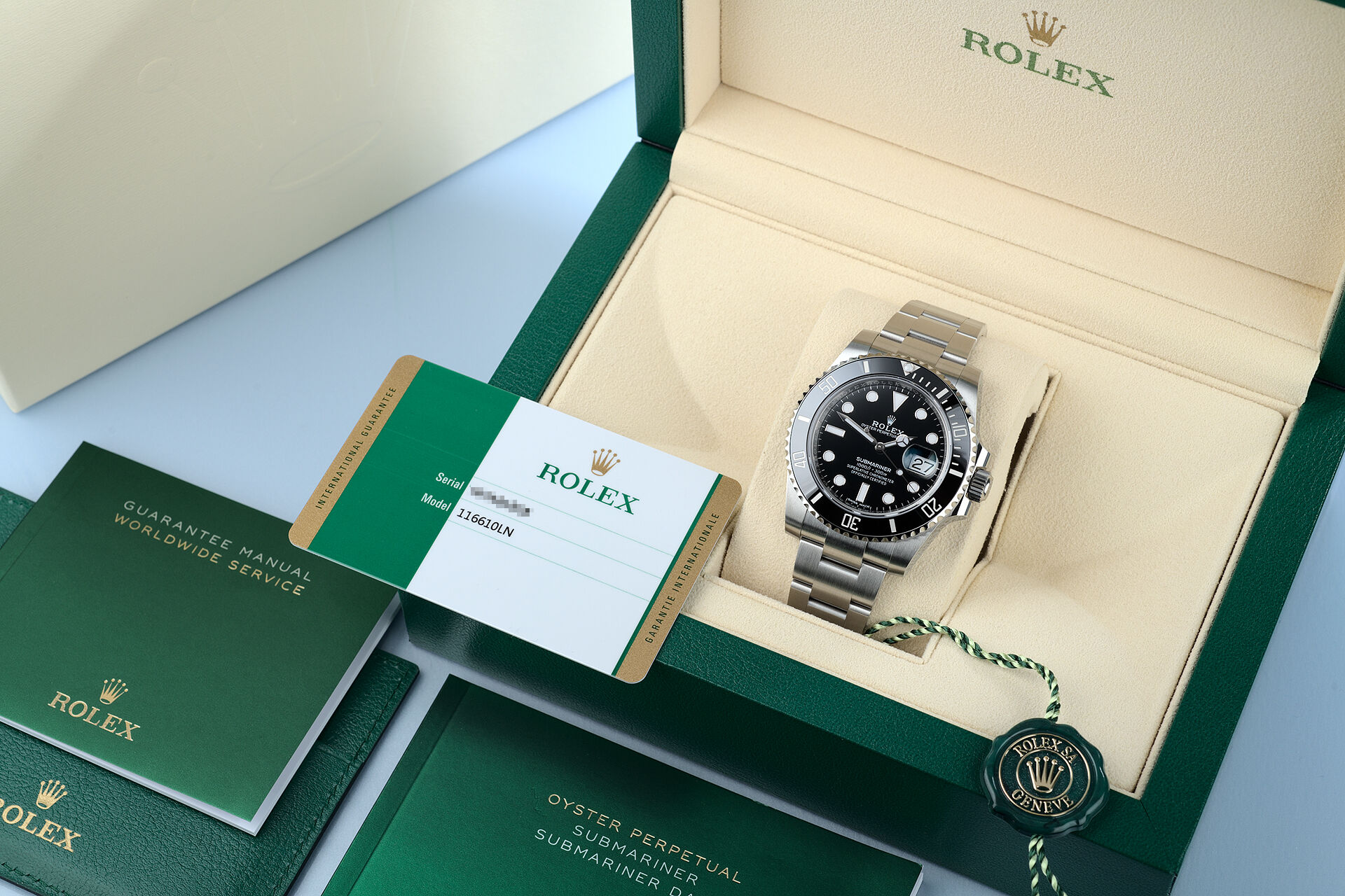 ref 116610LN | Under Warranty to 2025 | Rolex Submariner Date