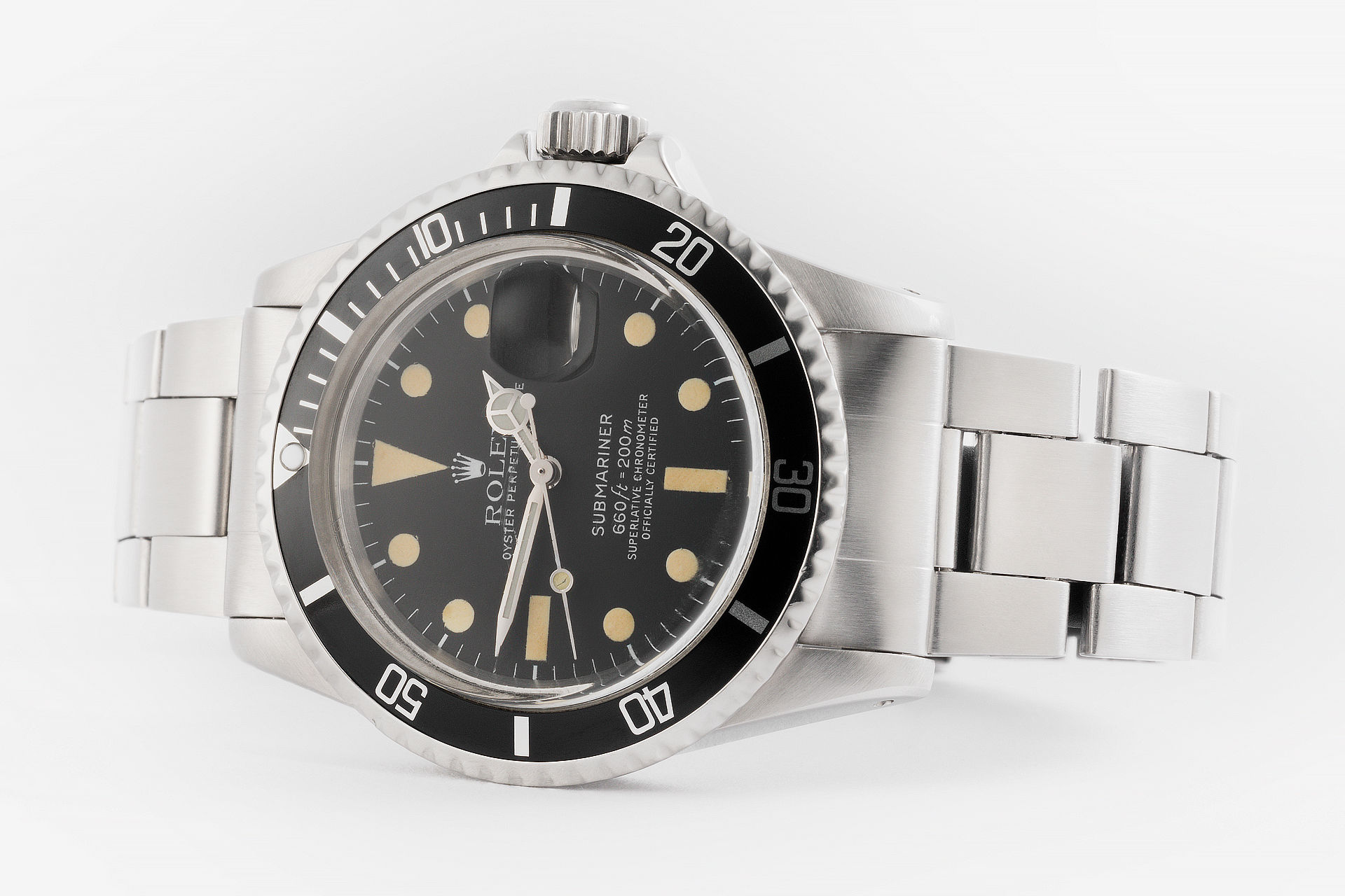 ref 1680 | Vintage Model Mk II 'All White' | Rolex Submariner Date