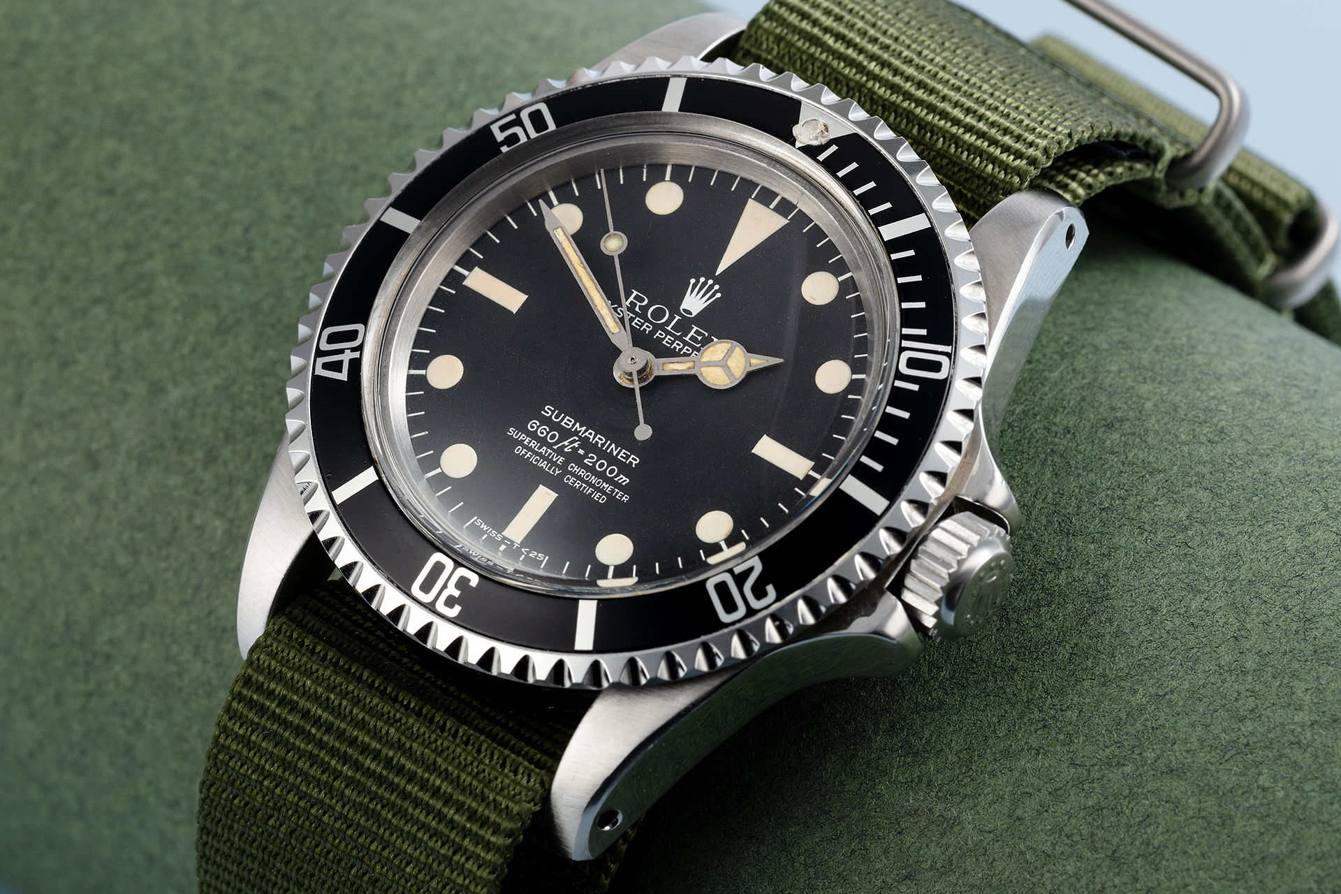 ref 5512 | Rare Chronometer '5512' | Rolex Submariner