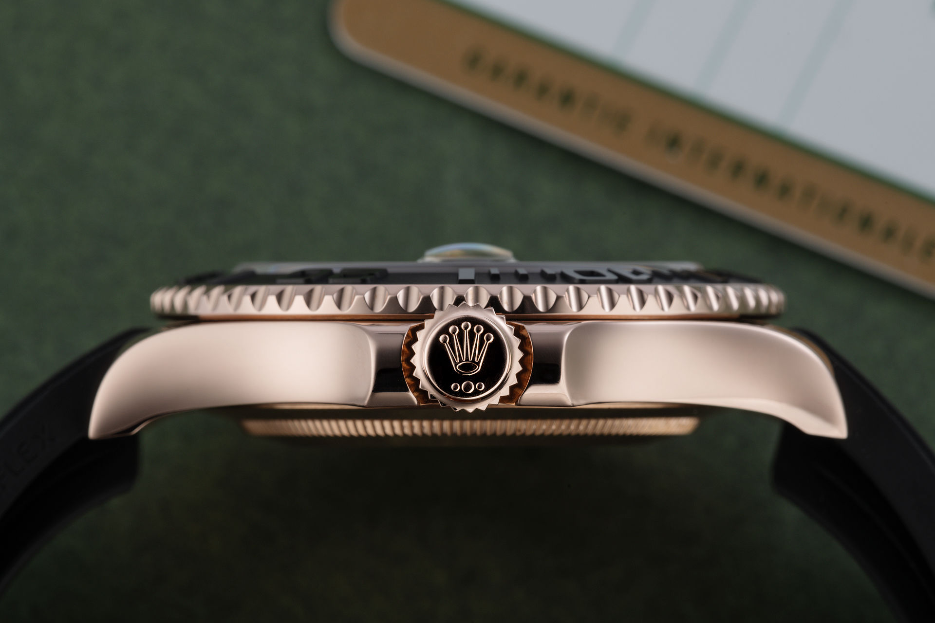 ref 116655 | 18ct Everose Gold 'Full Set' | Rolex Yacht-Master