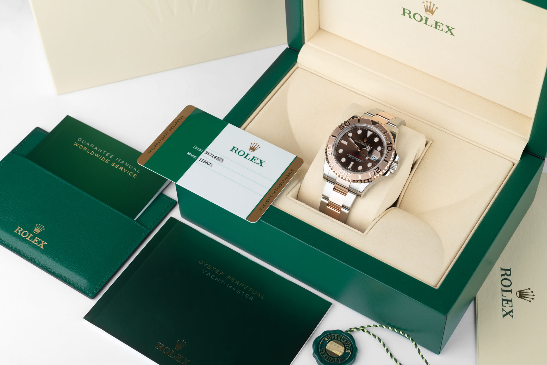 ref 116621 | Everose & Steel '5 Year Warranty' | Rolex Yacht-Master