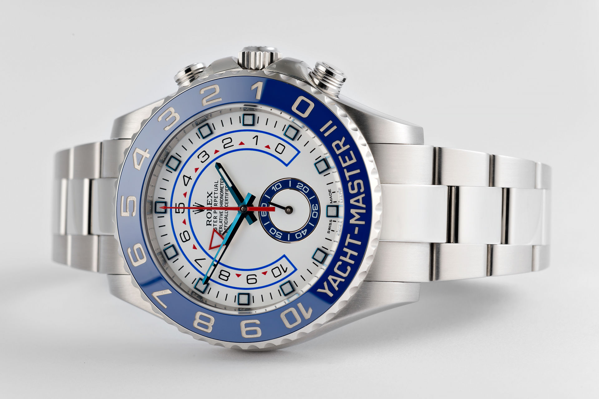 ref 116680 | 44mm '5 Year Warranty' | Rolex Yacht-Master II