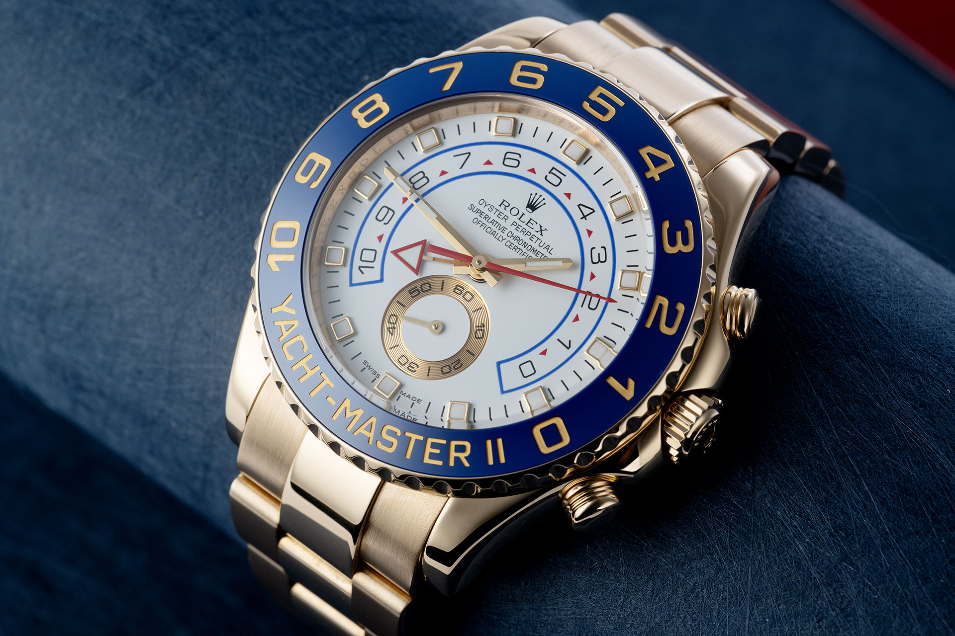 ref 116688 | Yellow Gold 'Box & Papers' | Rolex Yacht-Master II