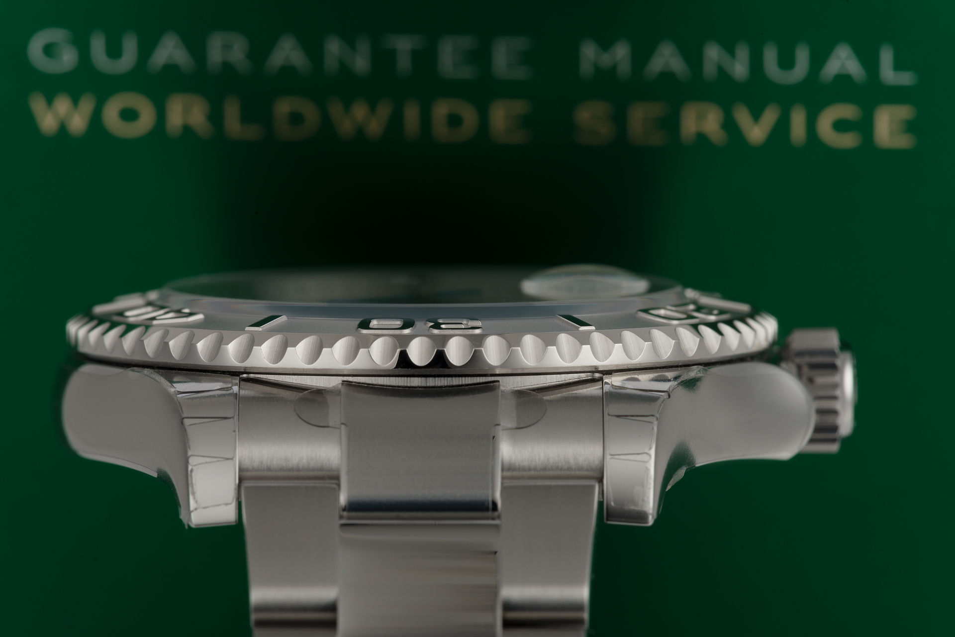"Platinum Bezel ""Fully Stickered"" 