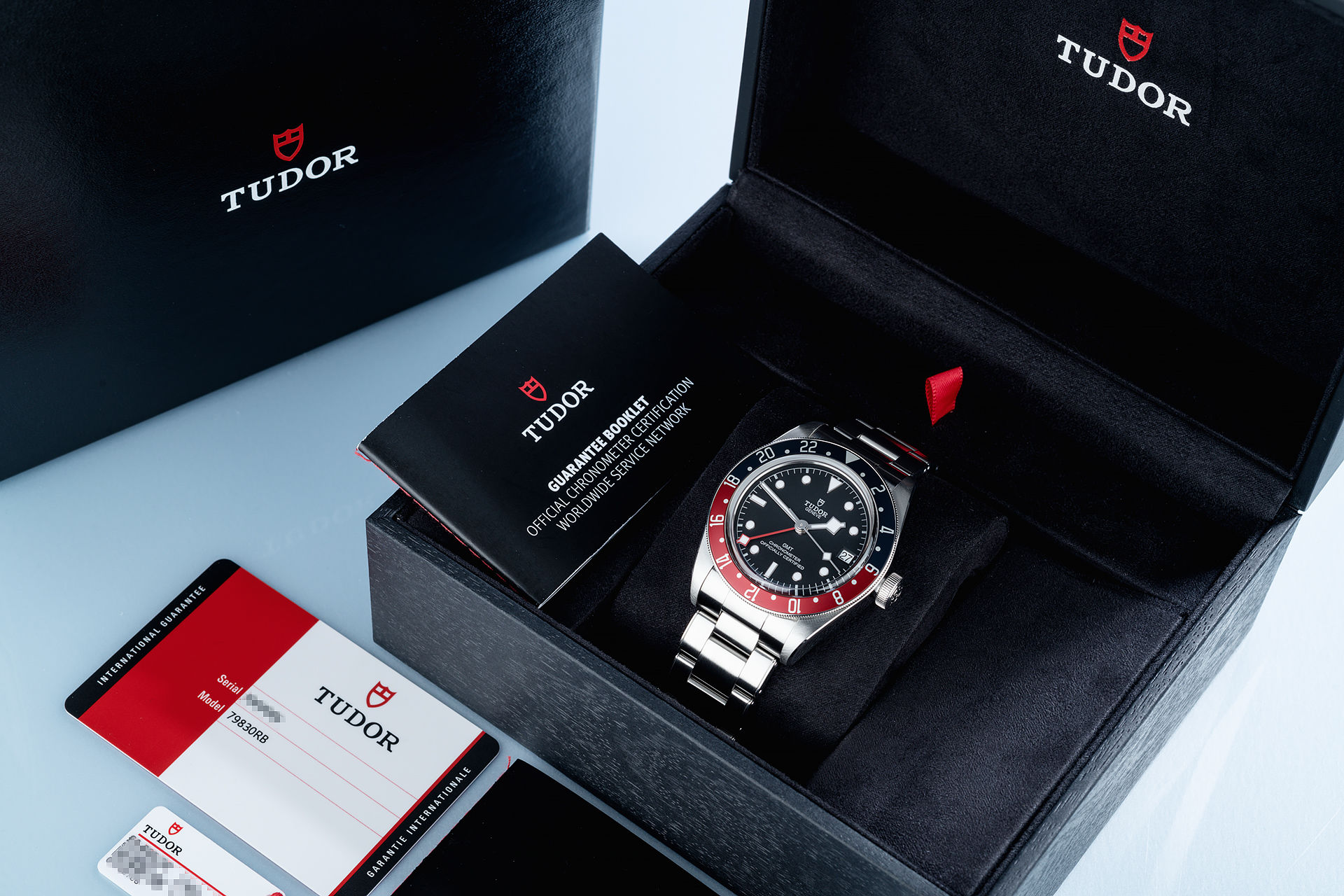 ref 79830RB | 41mm 'Box & Papers' | Tudor Black Bay GMT