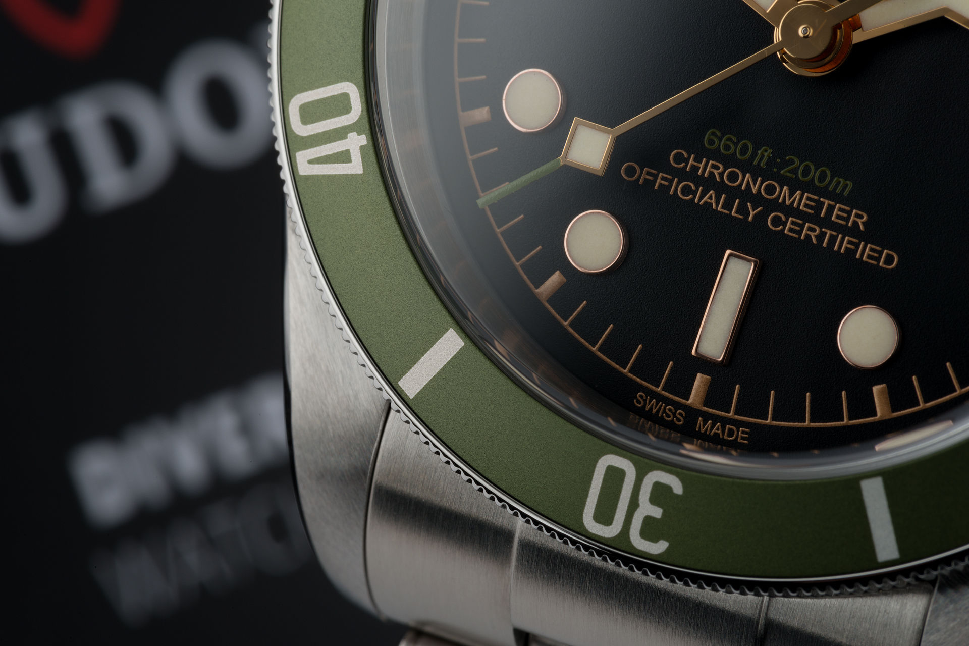 45c97744db3 Tudor Black Bay Watches   ref 79230G   Special Edition 'For Harrods ...
