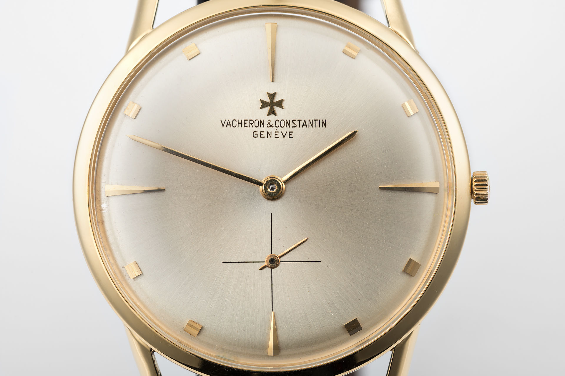 ref 6456 | 'Silver Soleil Dial' | Vacheron Constantin Dress Watch