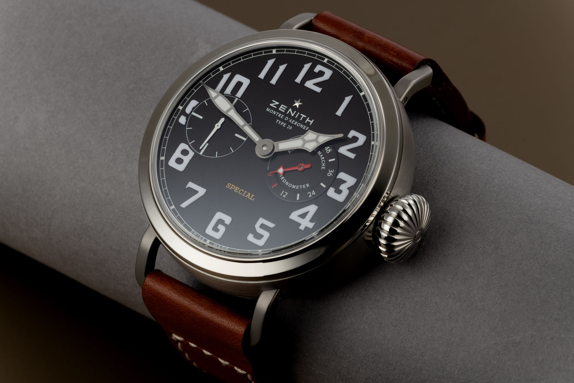 ref 95.2420.5011 | Limited to 250 Pieces | Zenith Type 20 Special Pilots Watch